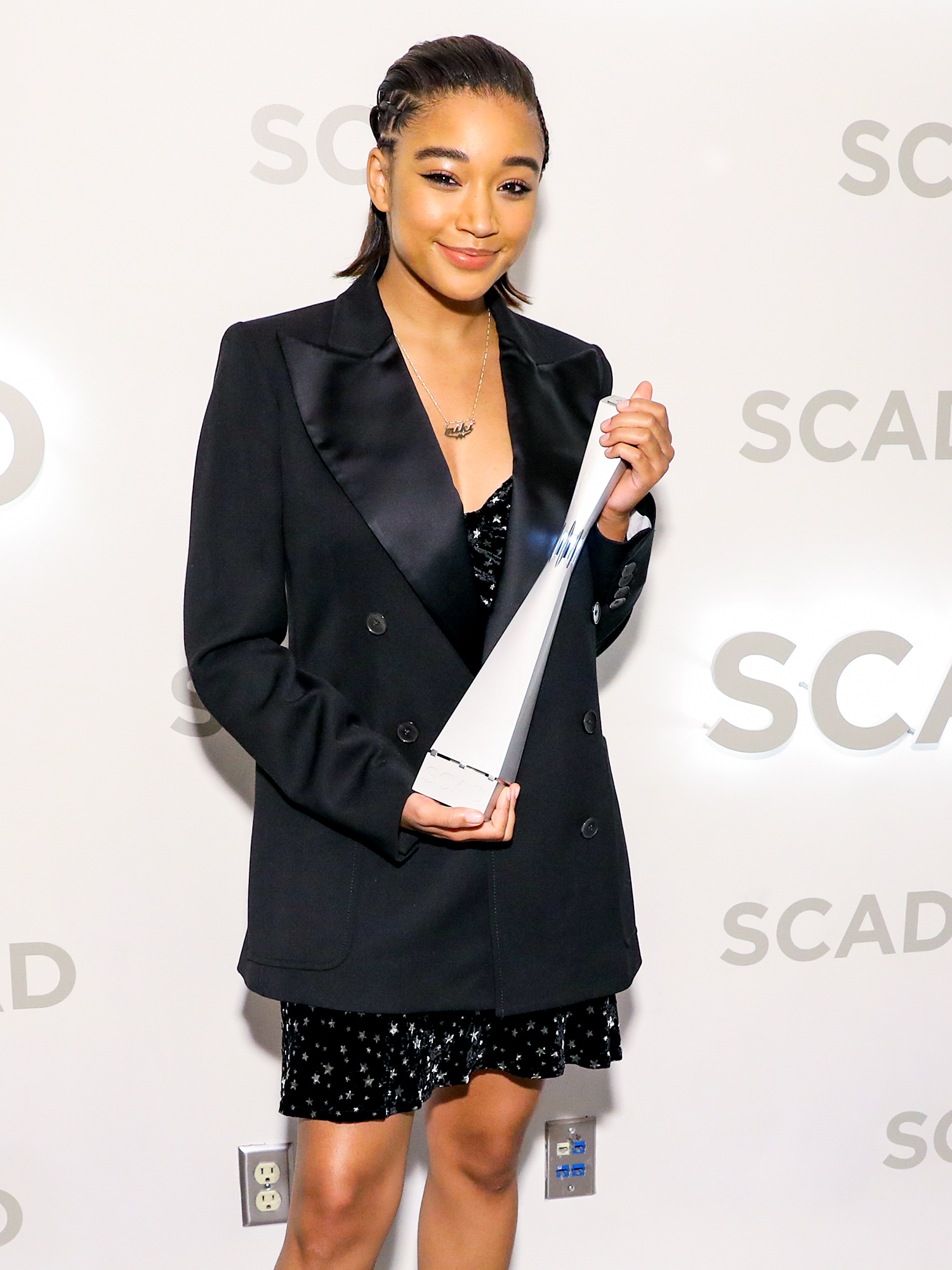 "21st SCAD Savannah Film Festival - Amandla Stenberg Rising Star Award Presentation & ""The Hate U Give"" Screening"