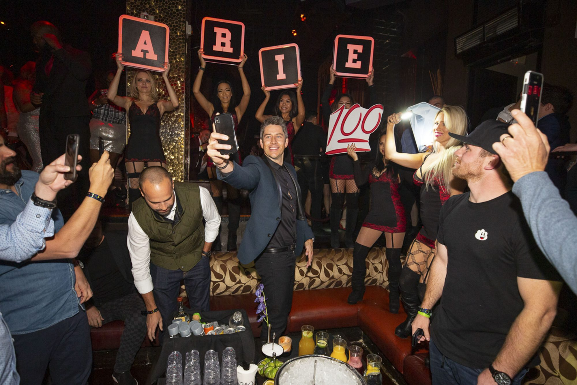 Arie Luyendyk Jr and Friends at TAO