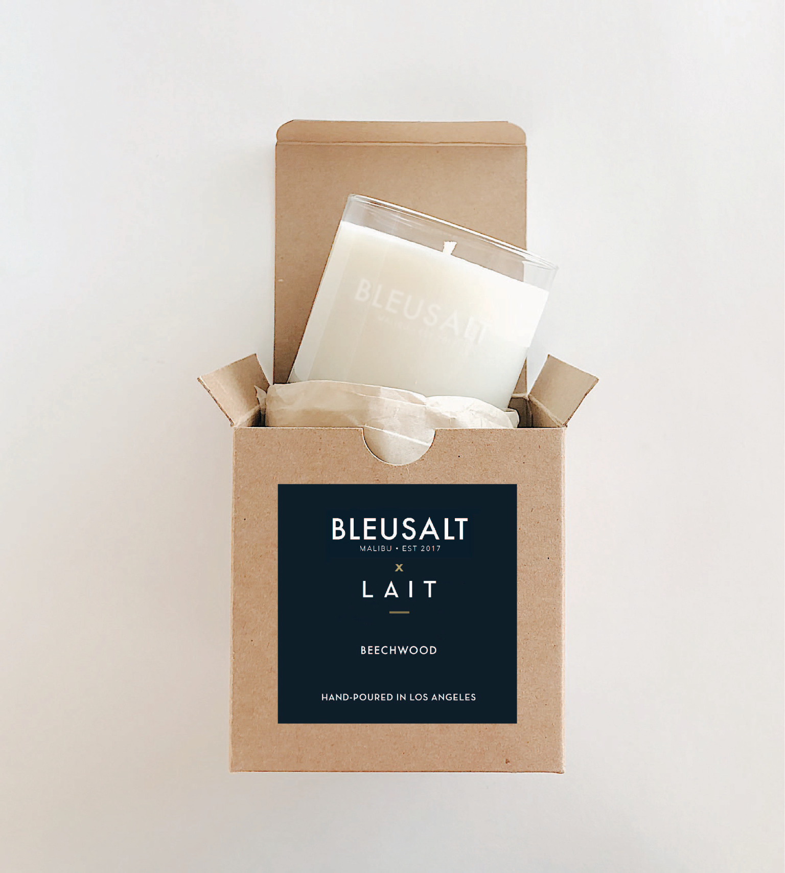 For the Hostess: Bleusalt x LAIT Candle