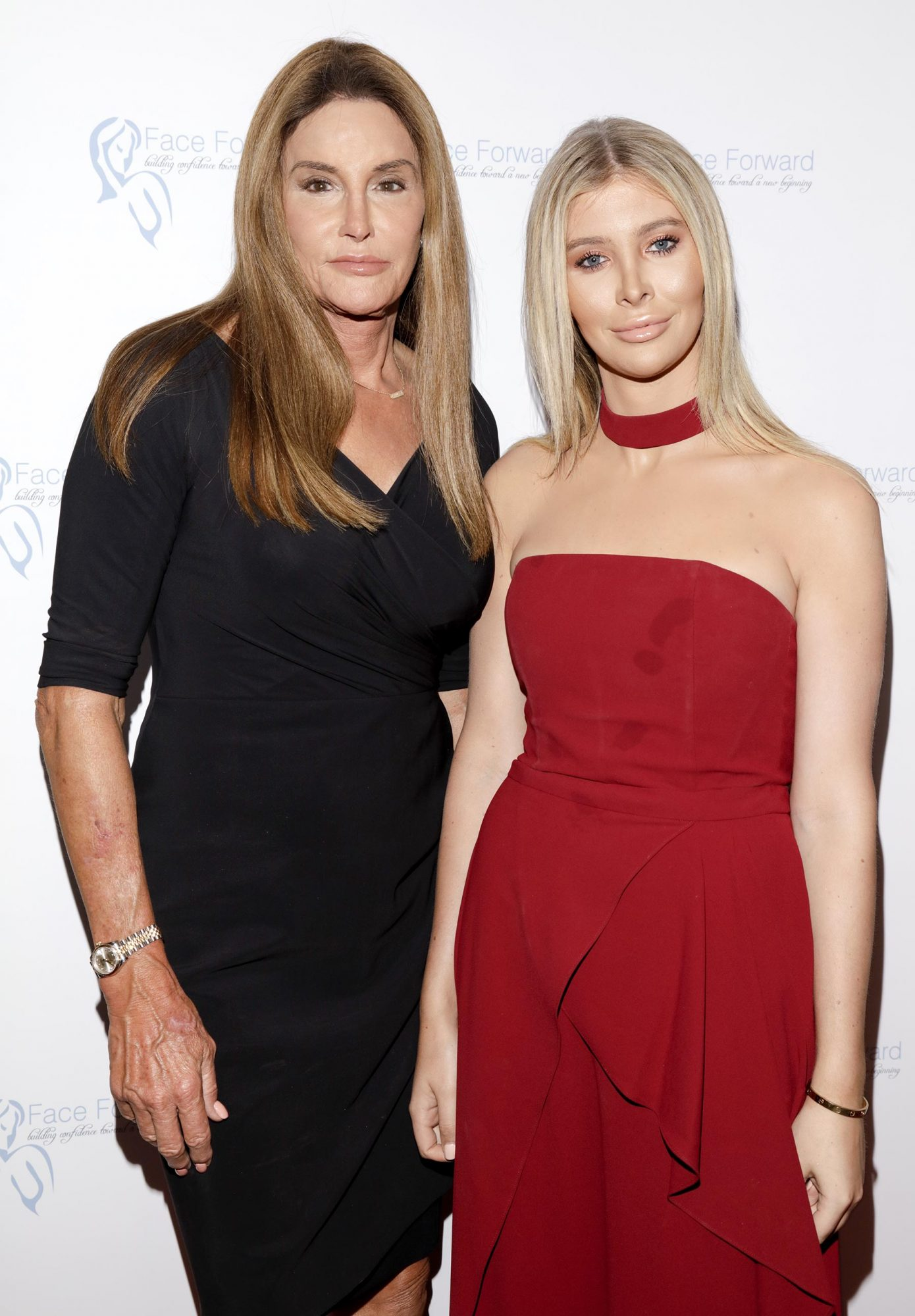 Caitlyn Jenner and Sophia Hutchins CR: Rony Armas
