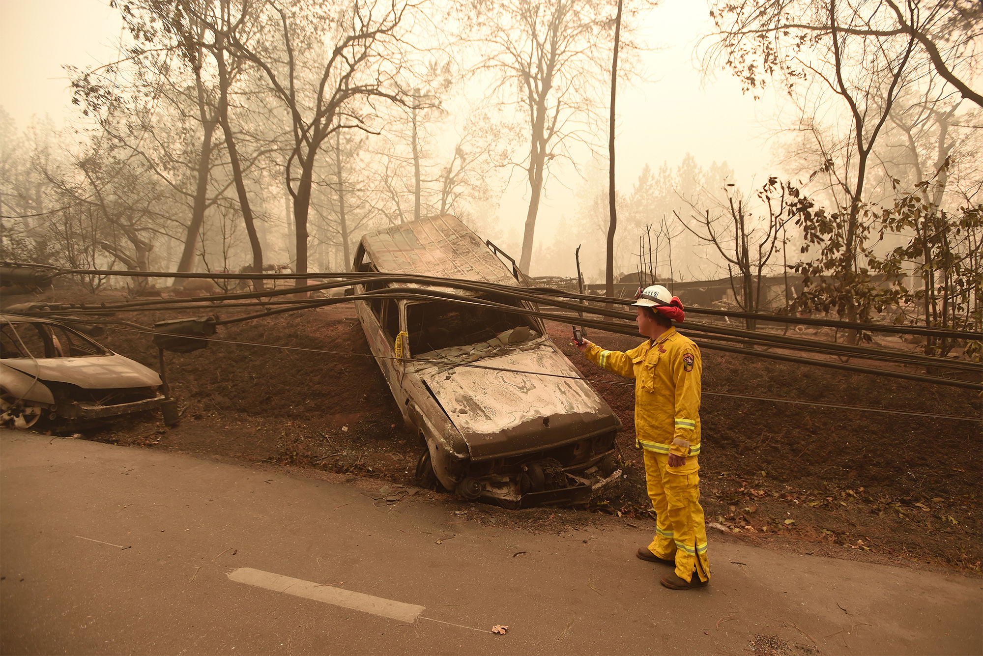 TOPSHOT-US-FIRE-CALIFORNIA-ENVIRONMENT-WEATHER