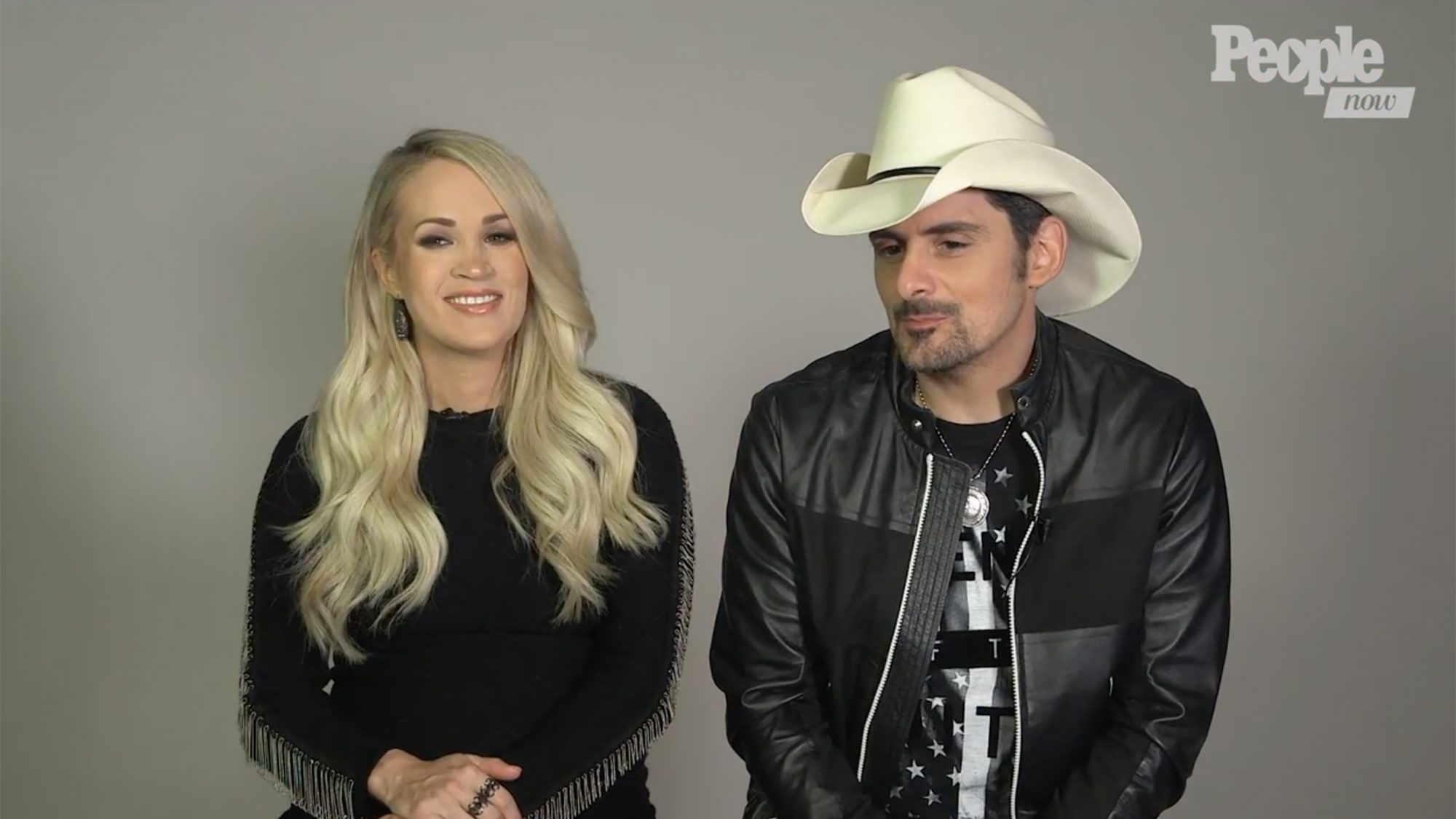 Carrie Underwood and Brad PaisleyCountry Music Awards