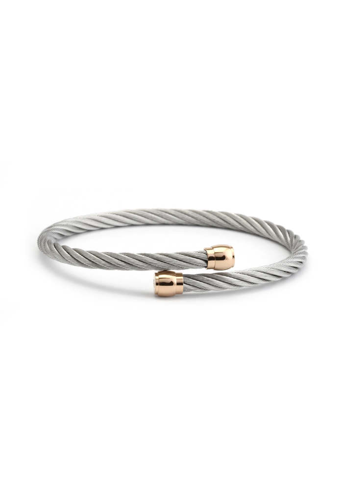 For the Jewelry Lover: Charriol Cable Bangle Bracelet