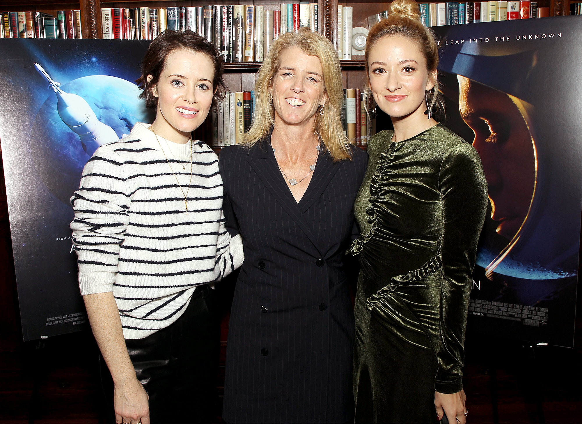 New York Q&A and Reception for Discovery's 'Above And Beyond: NASA's Journey to Tomorrow' and Universal's 'Firts Man', USA - 26 Nov 2018