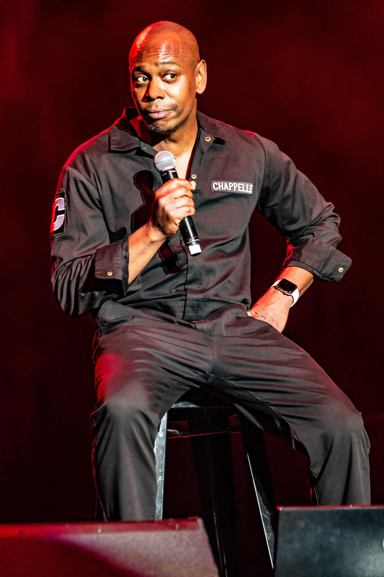 Exclusive - Dave Chappelle performance at Capetown's Grand Arena, South Africa - 27 Nov 2018