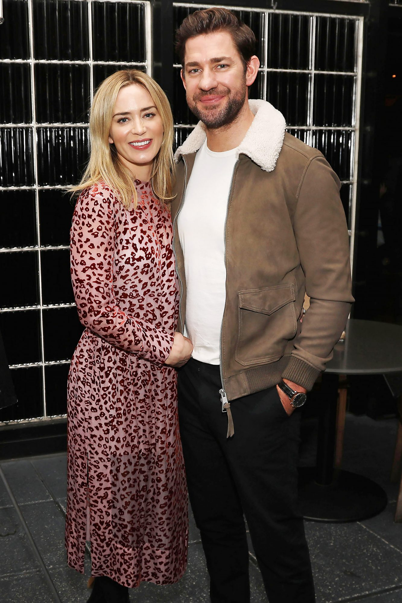 Reception for a Special Screening of Paramount Pictures' Film 'A Quiet Place', New York, USA - 12 Nov 2018
