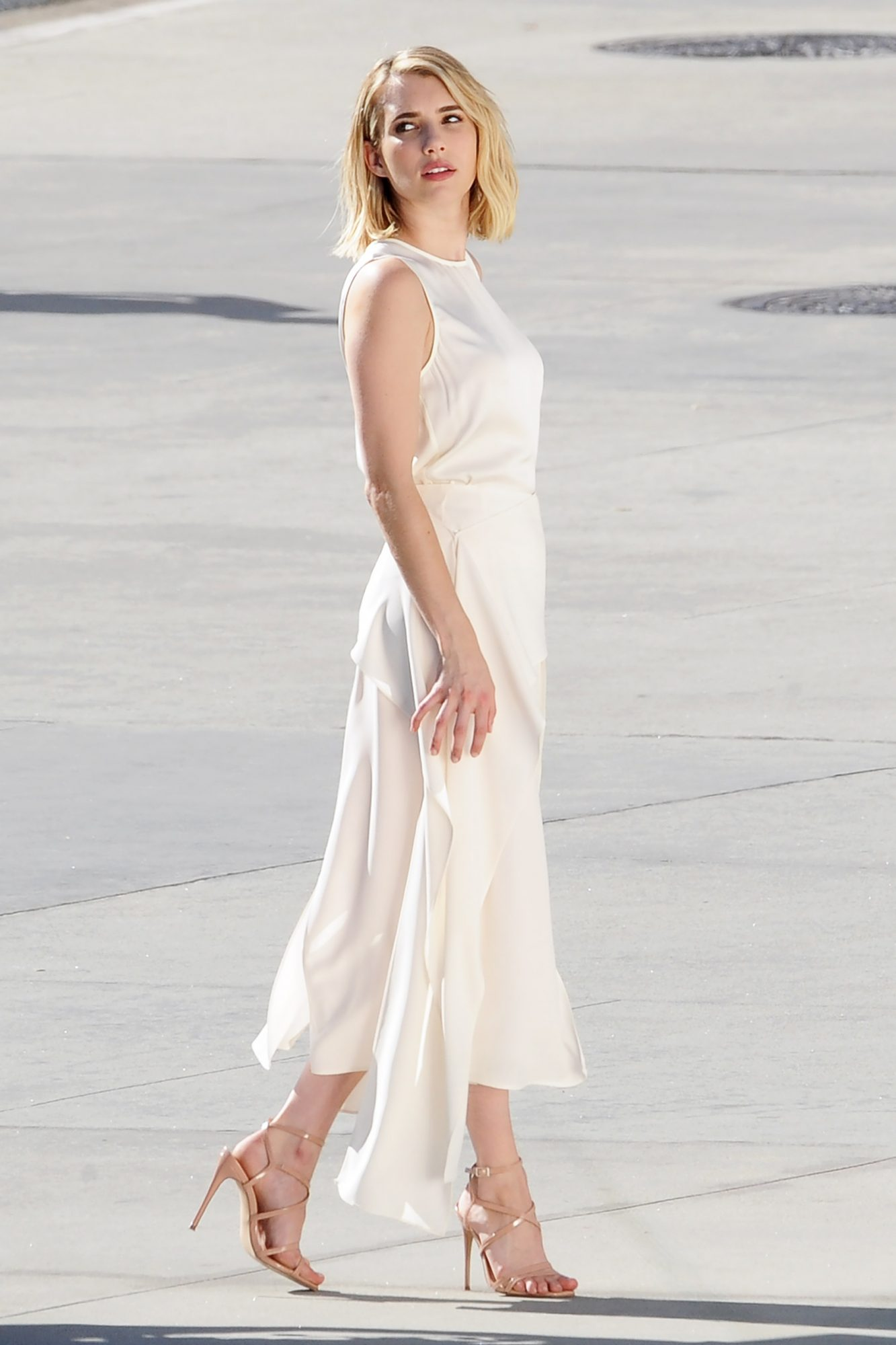 EXCLUSIVE: Emma Roberts is Spotted During a Photo Shoot in Los Angeles