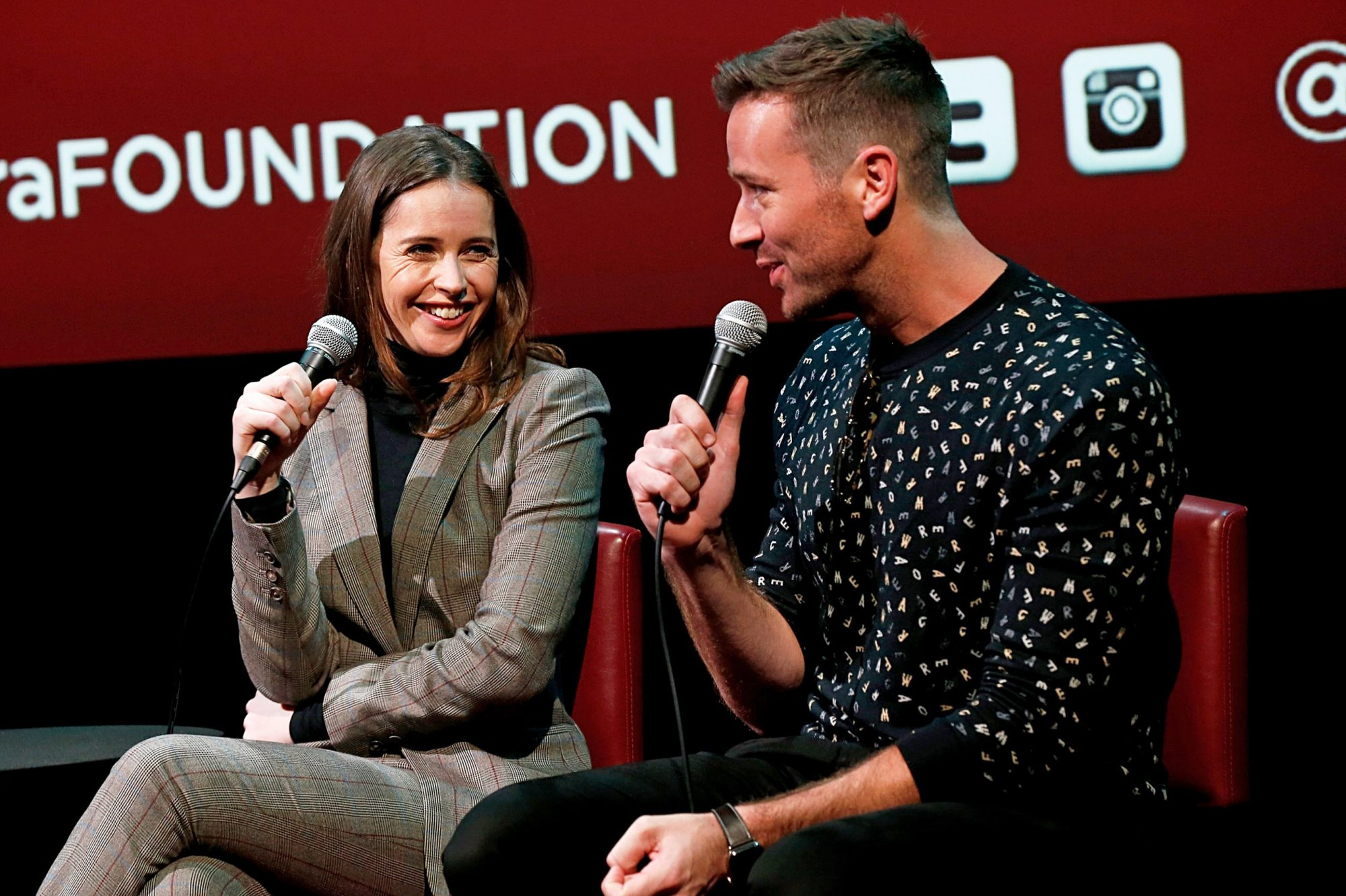 """SAG-AFTRA Foundation Conversations: """"On The Basis Of Sex"""" With Felicity Jones And Armie Hammer"""
