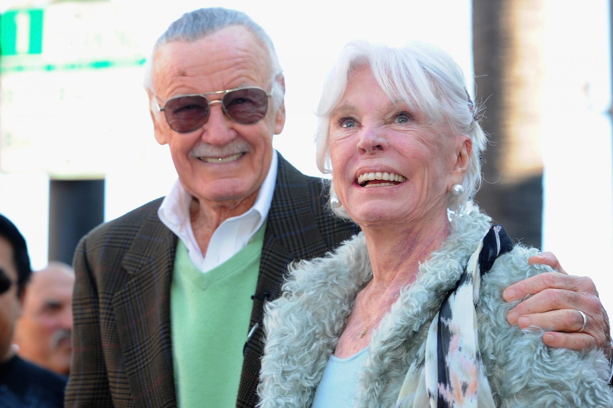 Stan Lee Honored On The Hollywood Walk Of Fame