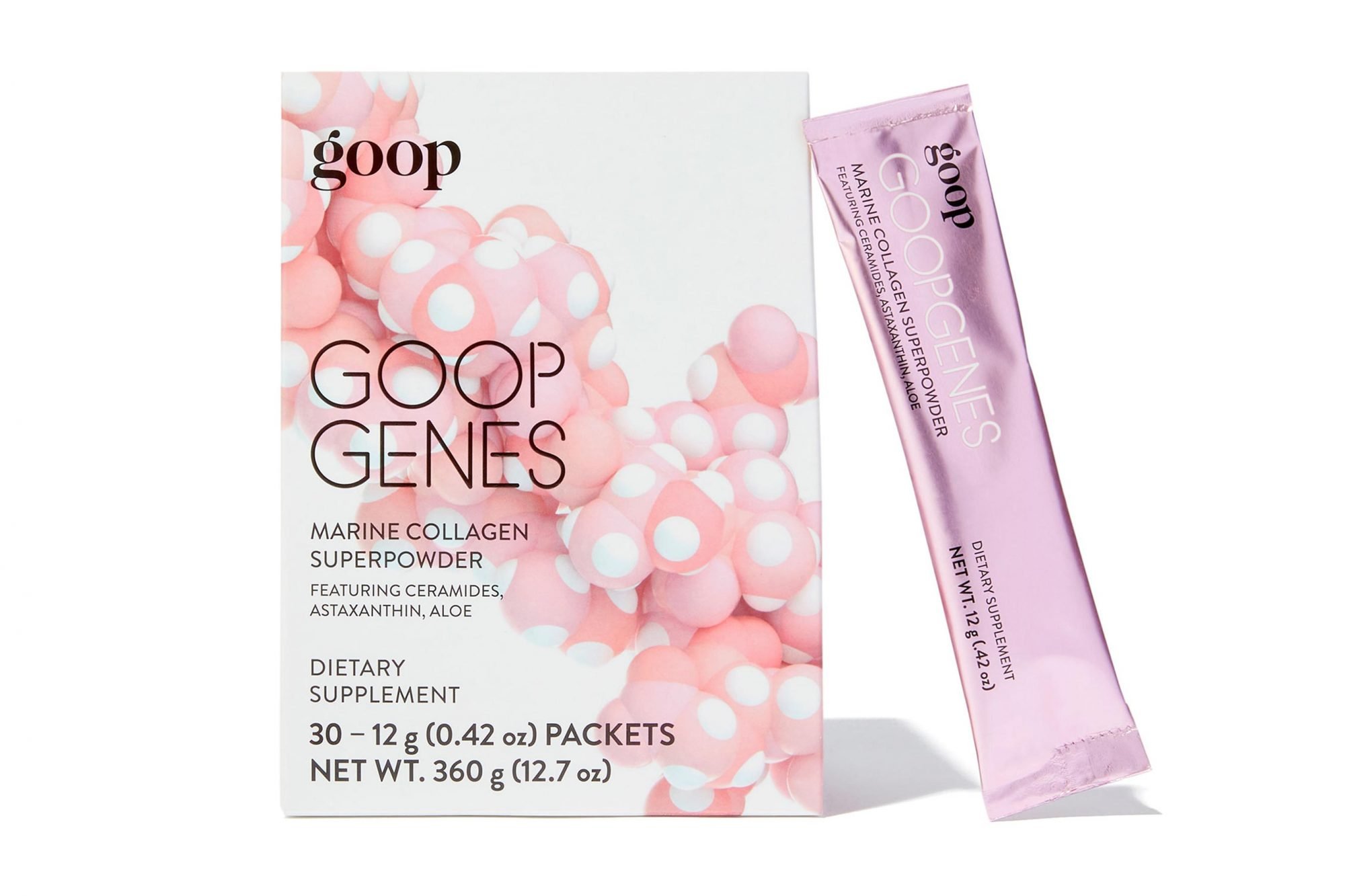 GOOP GENES product Courtesy GOOP