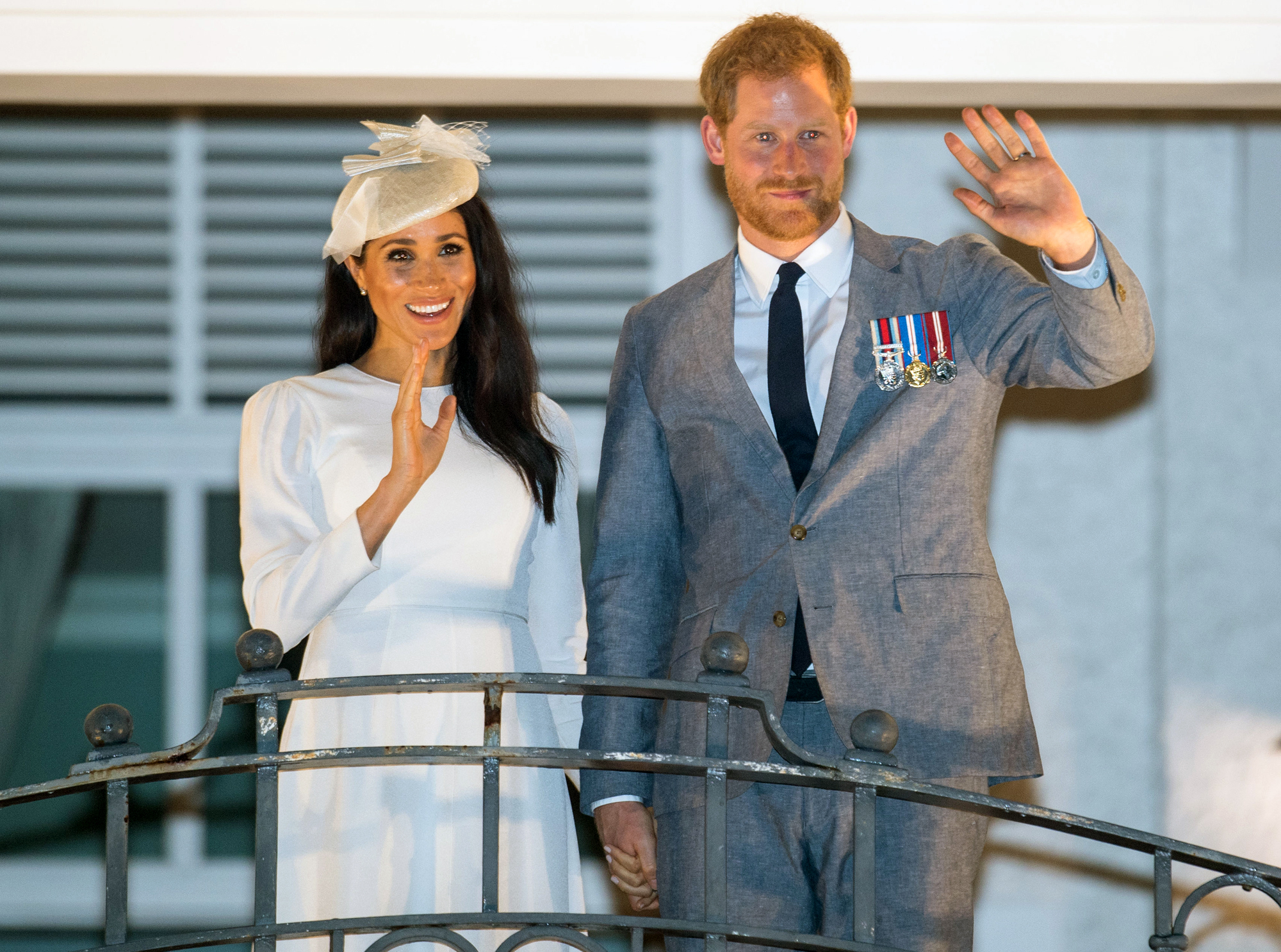 Royal tour of Fiji - Day One