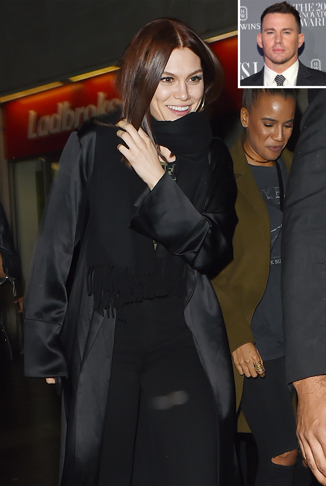Jessie J leaves Magic Mike live Show in London