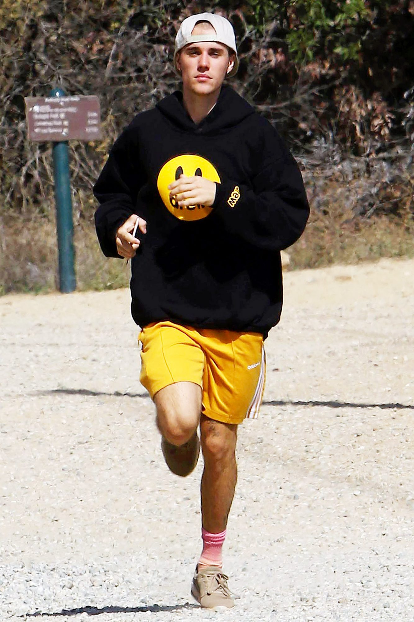Justin Bieber out and about, Los Angeles, USA - 01 Nov 2018