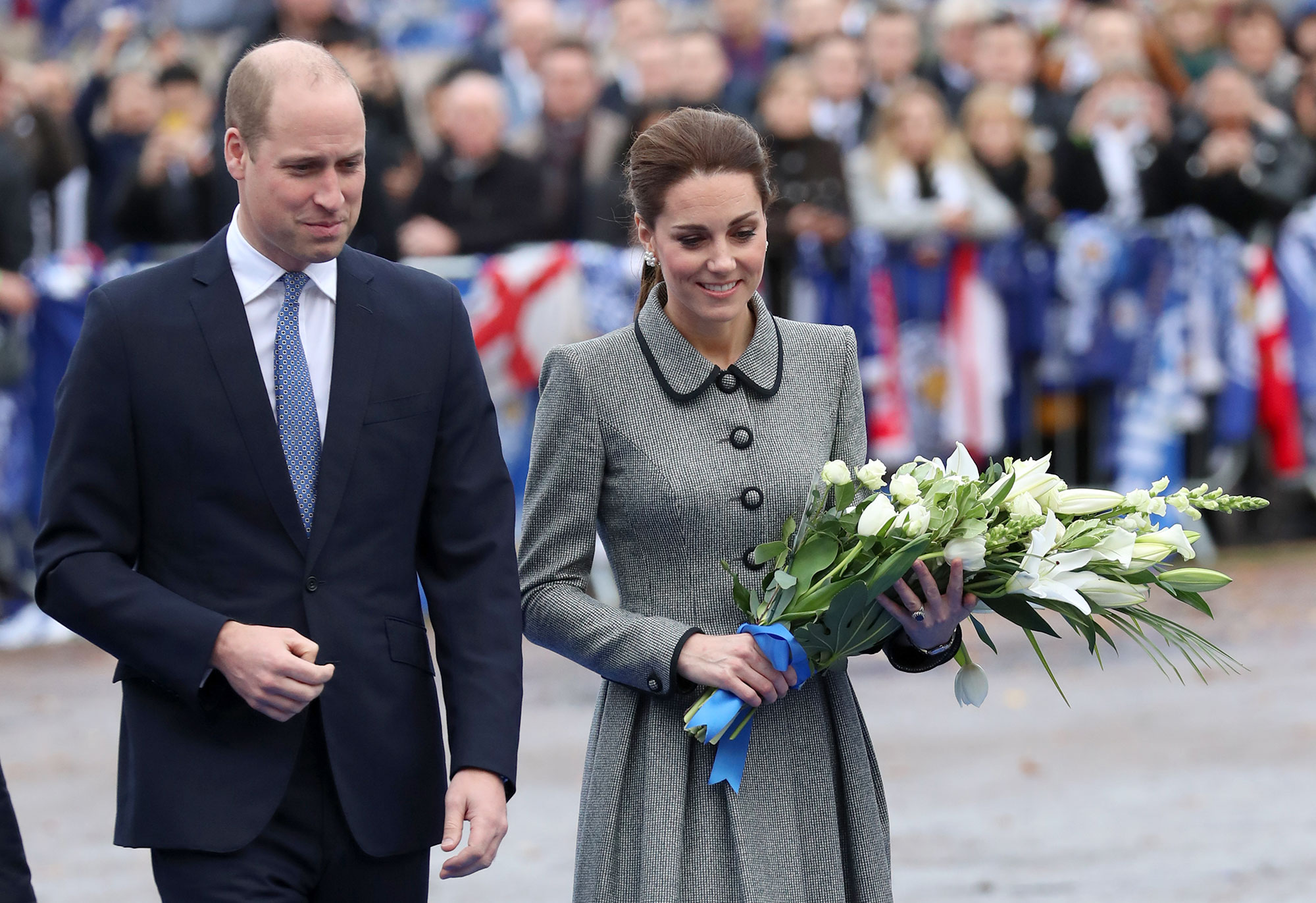 The Duke And Duchess Of Cambridge Visit Leicester