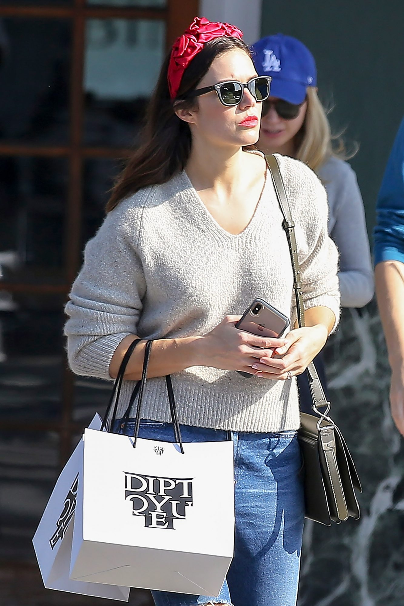 EXCLUSIVE: Newly married Mandy Moore flashes her wedding ring whilst shopping