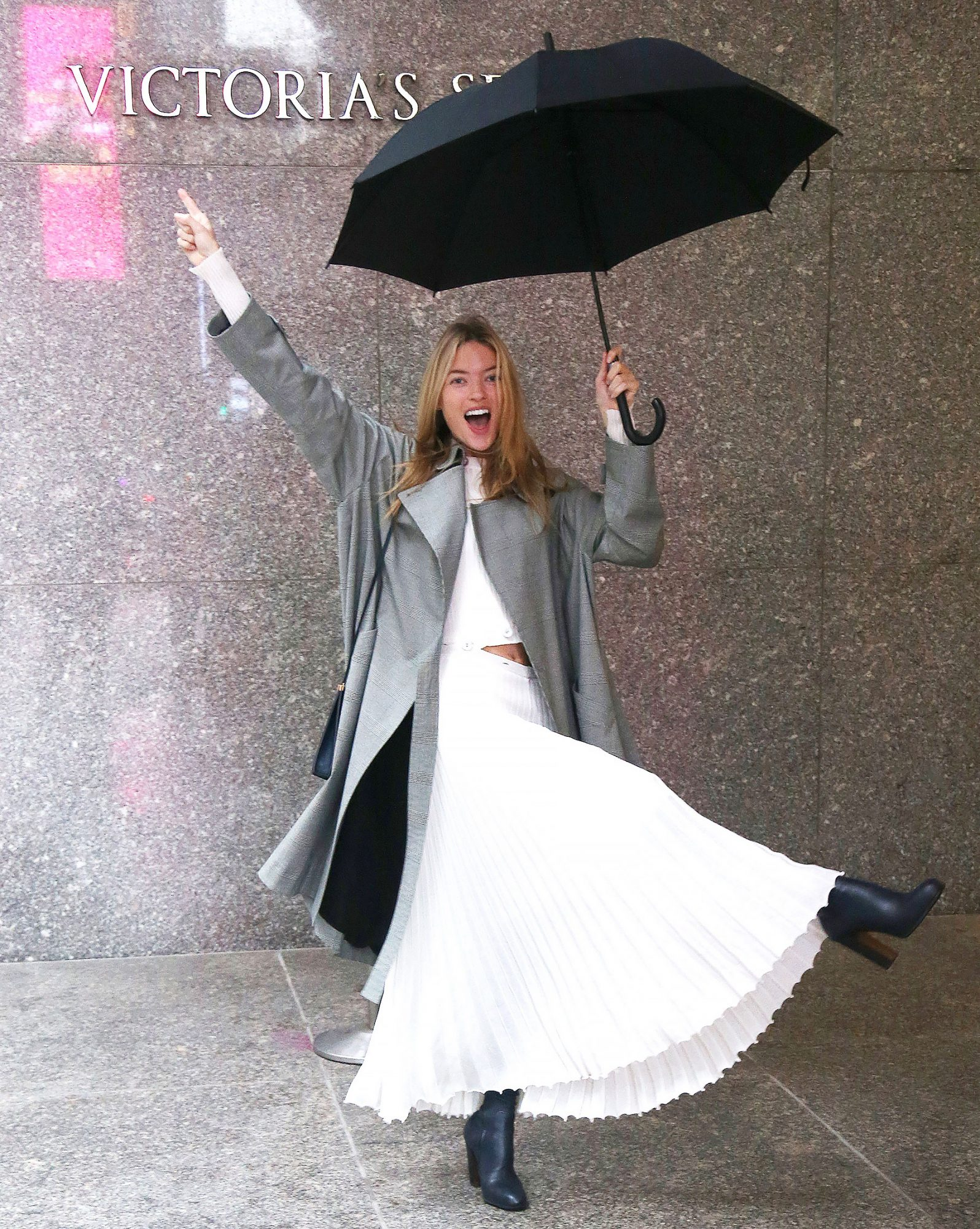 Martha Hunt Out And About In New York