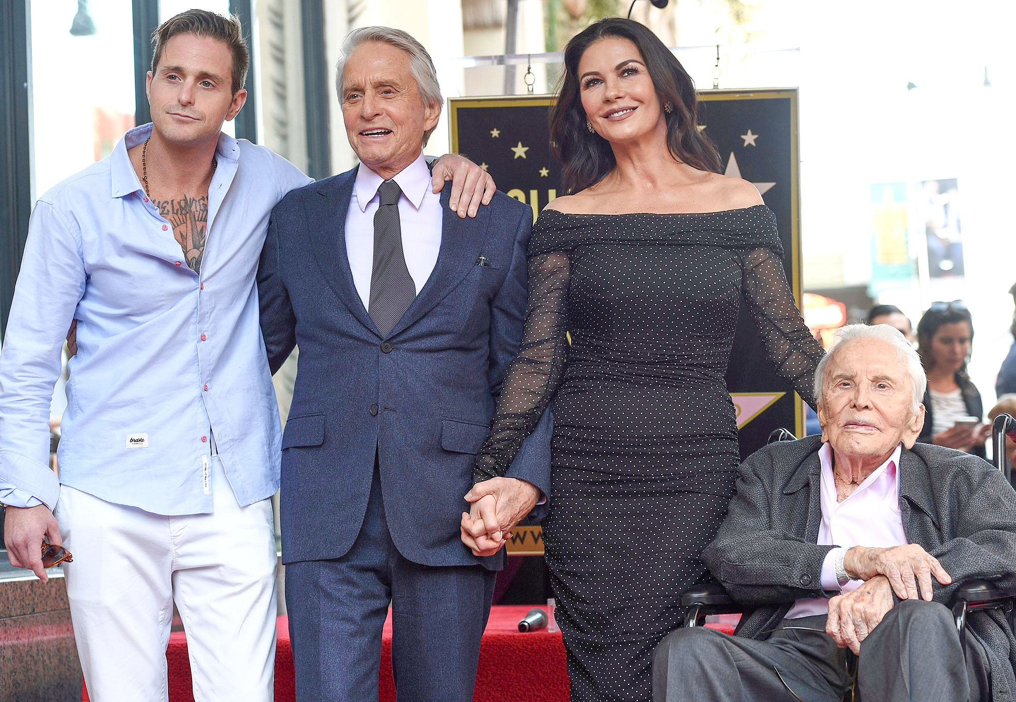 Michael Douglas Honored with a Star on the Hollywood Walk of Fame, Los Angeles, USA - 06 Nov 2018