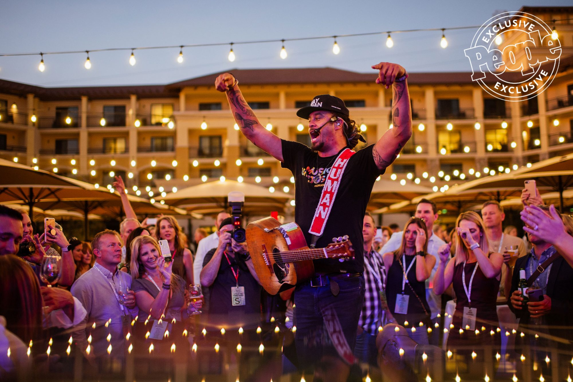 Michael-Franti-performs-for-guests-at-LITV-during-the-Opening-Reception-at-Vista-Collina