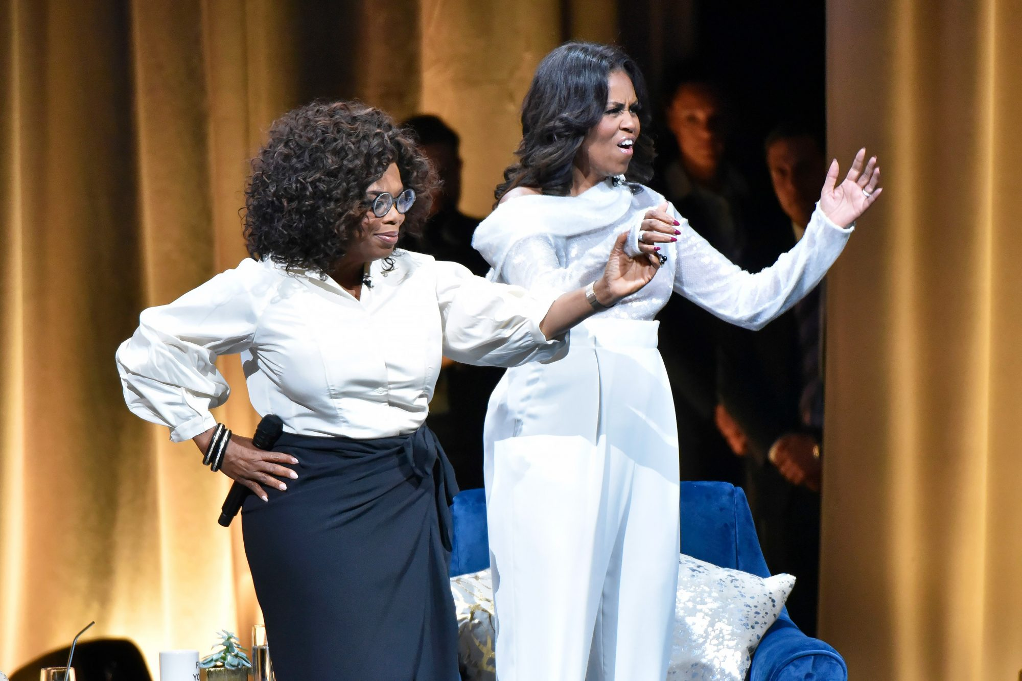 Becoming: An Intimate Conversation with Michelle Obama - , Chicago, USA - 13 Nov 2018