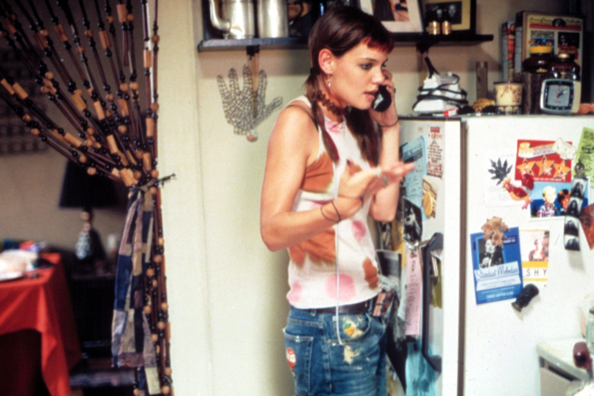 PIECES OF APRIL, Katie Holmes, 2003, (c) United Artists/courtesy Everett Collection