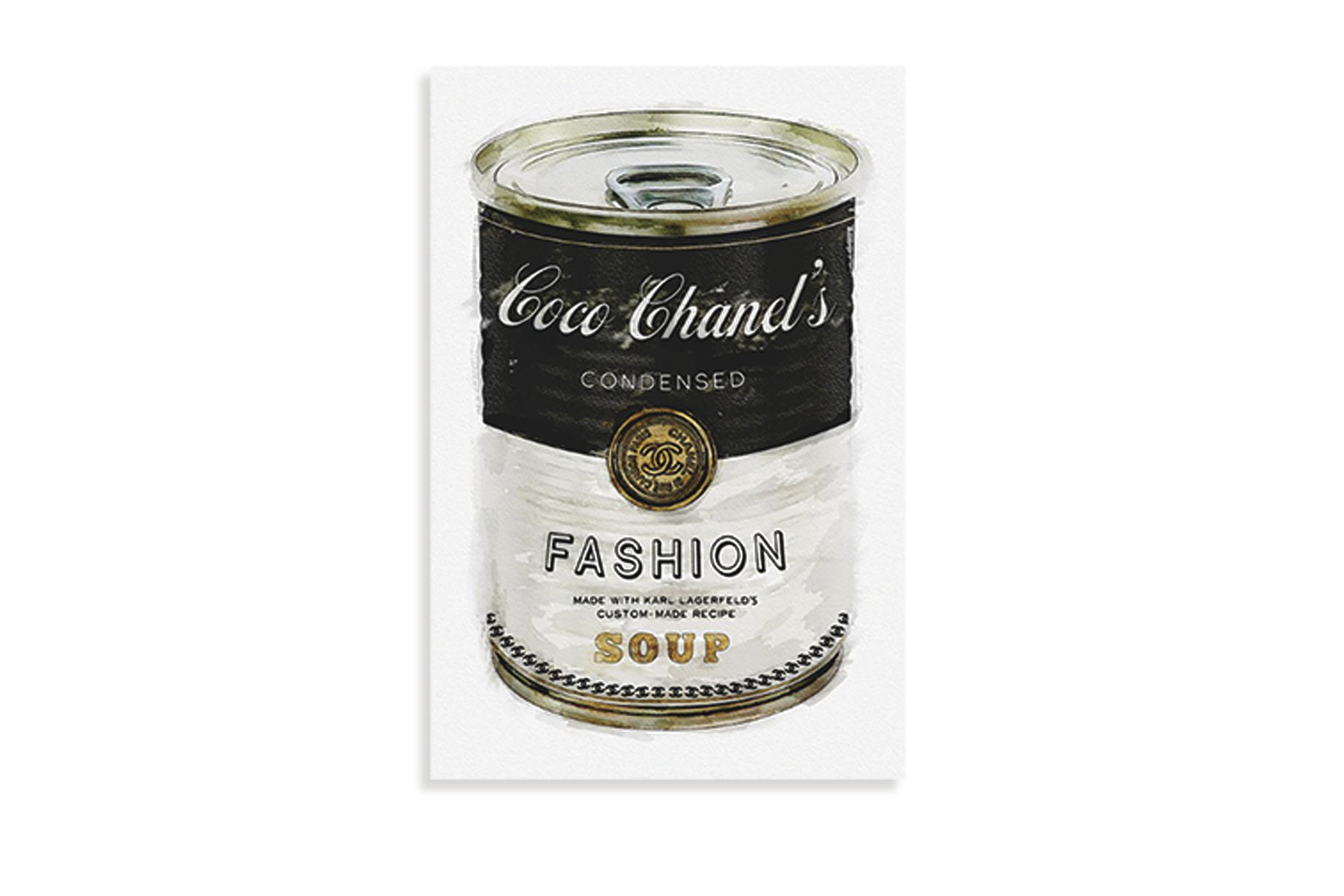 Fashion Soup Canvas by Oliver Gal