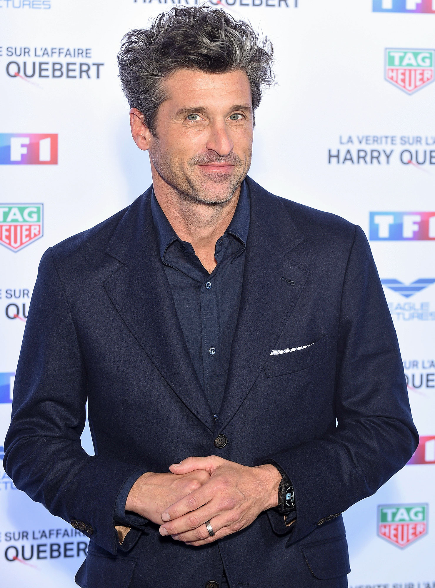 """The Truth About The Harry Quebert Affair - La Verite Sur L'Affaire Harry Quebert"" : Paris Photocall At Cinema Gaumont Marignan"