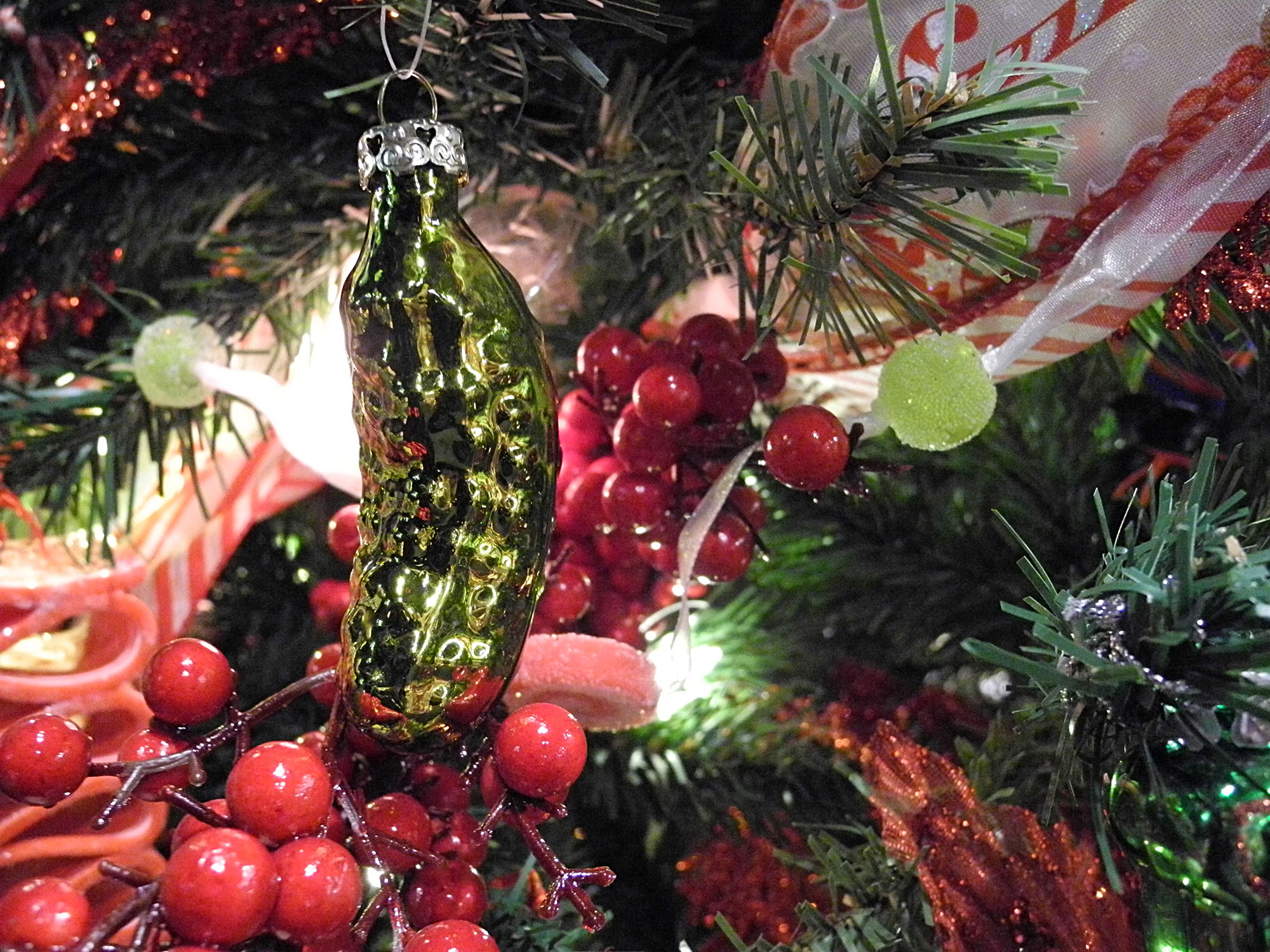 Pickle ornament for the Christmas tree