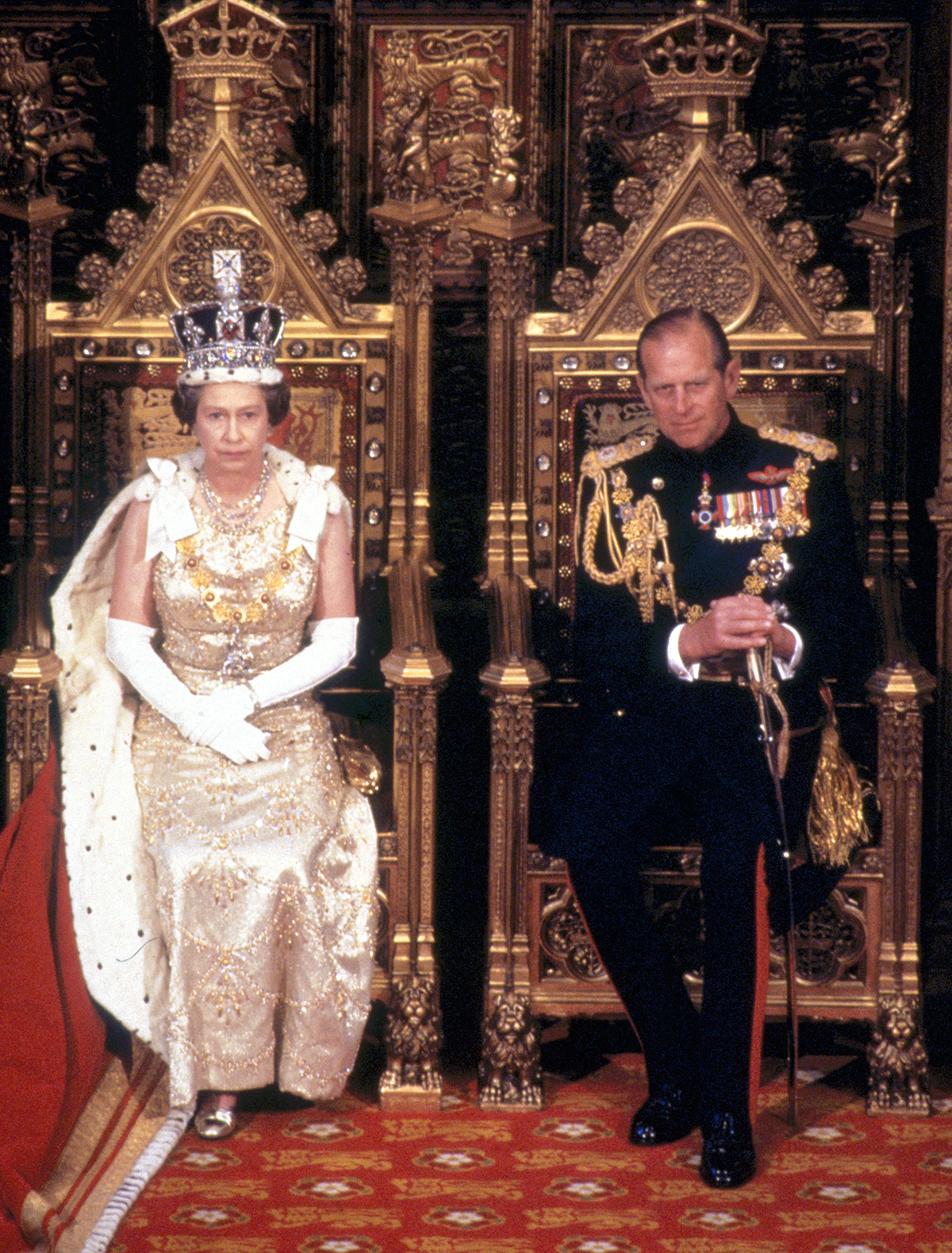 Royals Enthroned