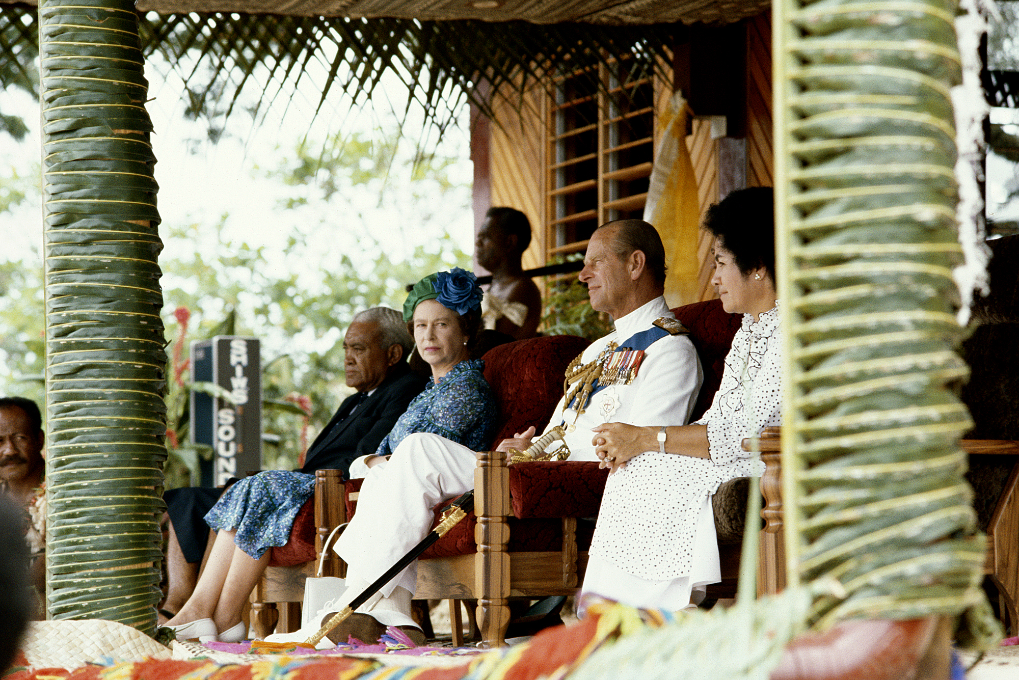 Royals In Fiji