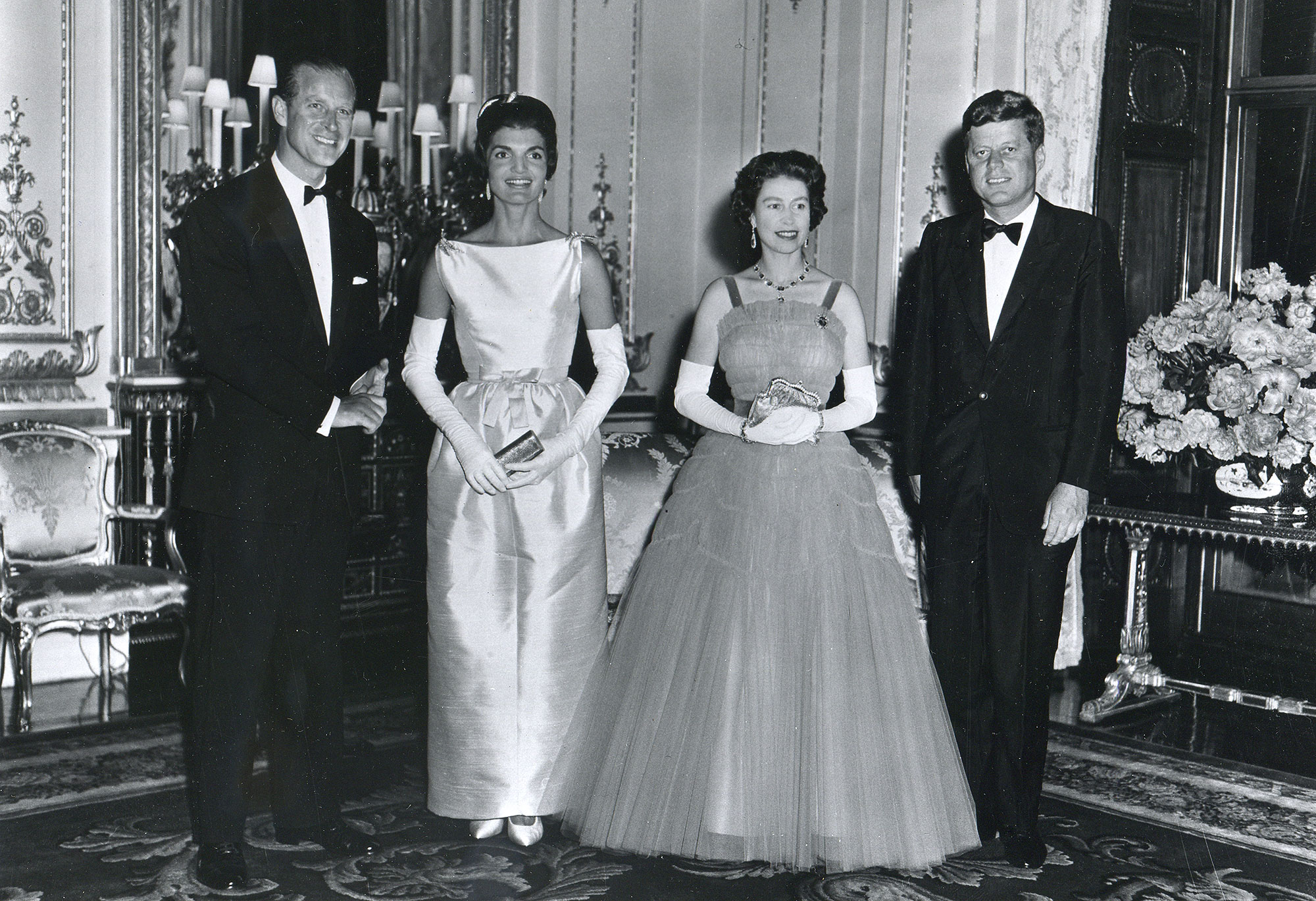 The Kennedys With The Queen