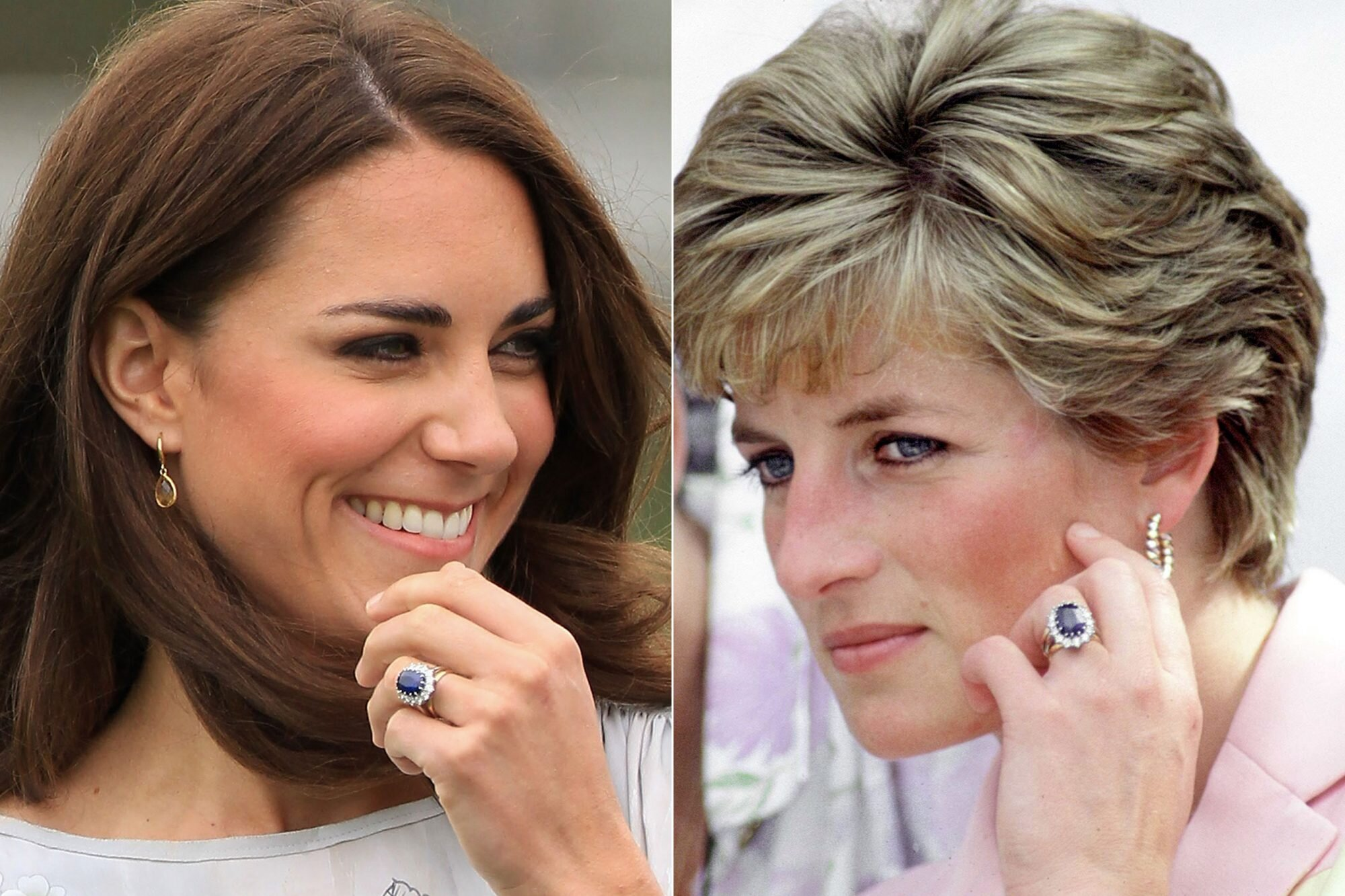 Meghan Markle And Kate Middleton Wearing Princess Diana S Jewelry People Com