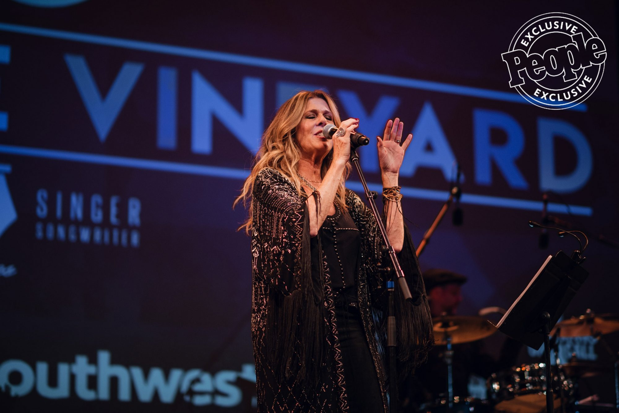 Rita-Wilson-Performs-at-Lincoln-Theater-during-LITV