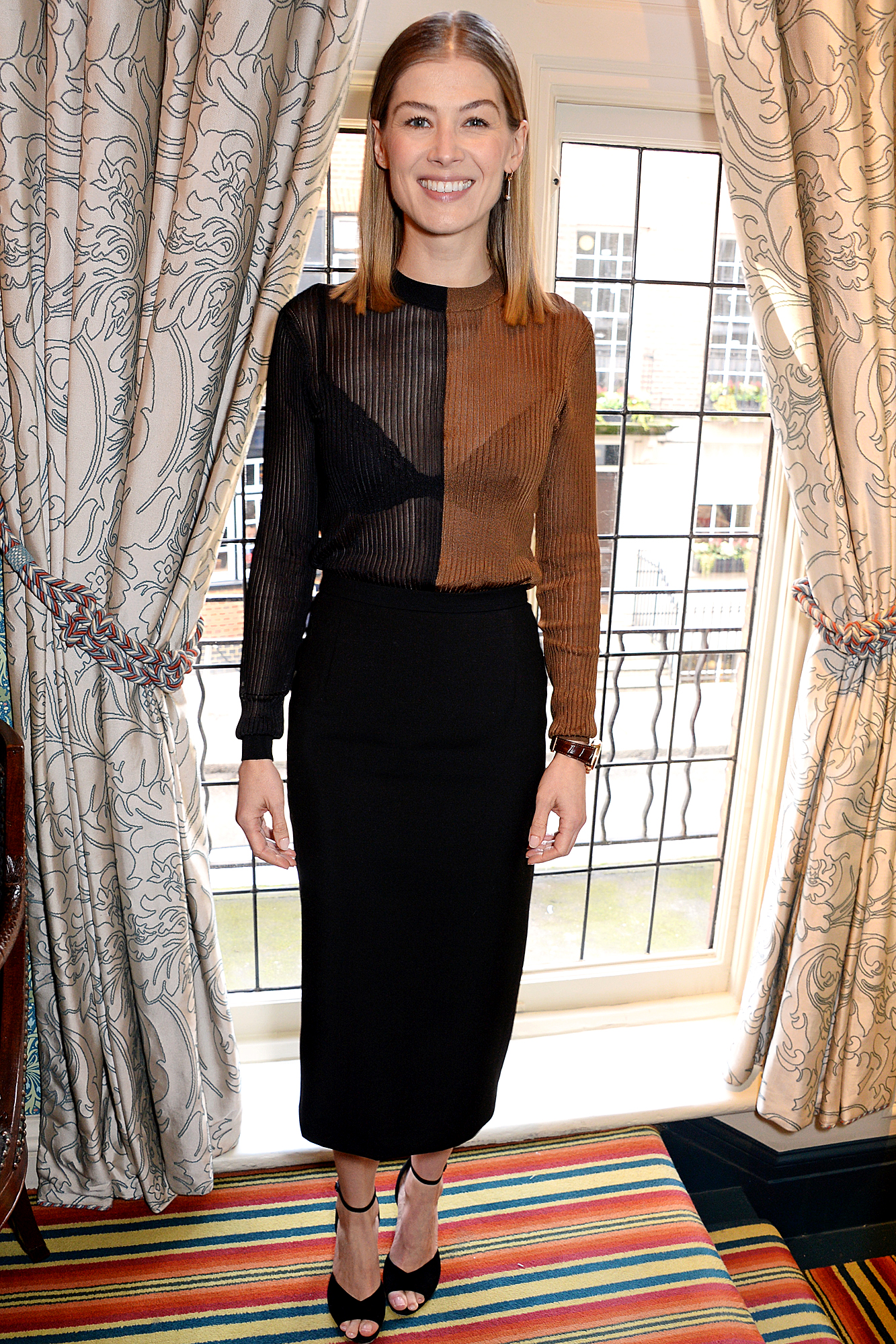 """A Private War"" Lunch In Honour Of Rosamund Pike Hosted By Vhernier"