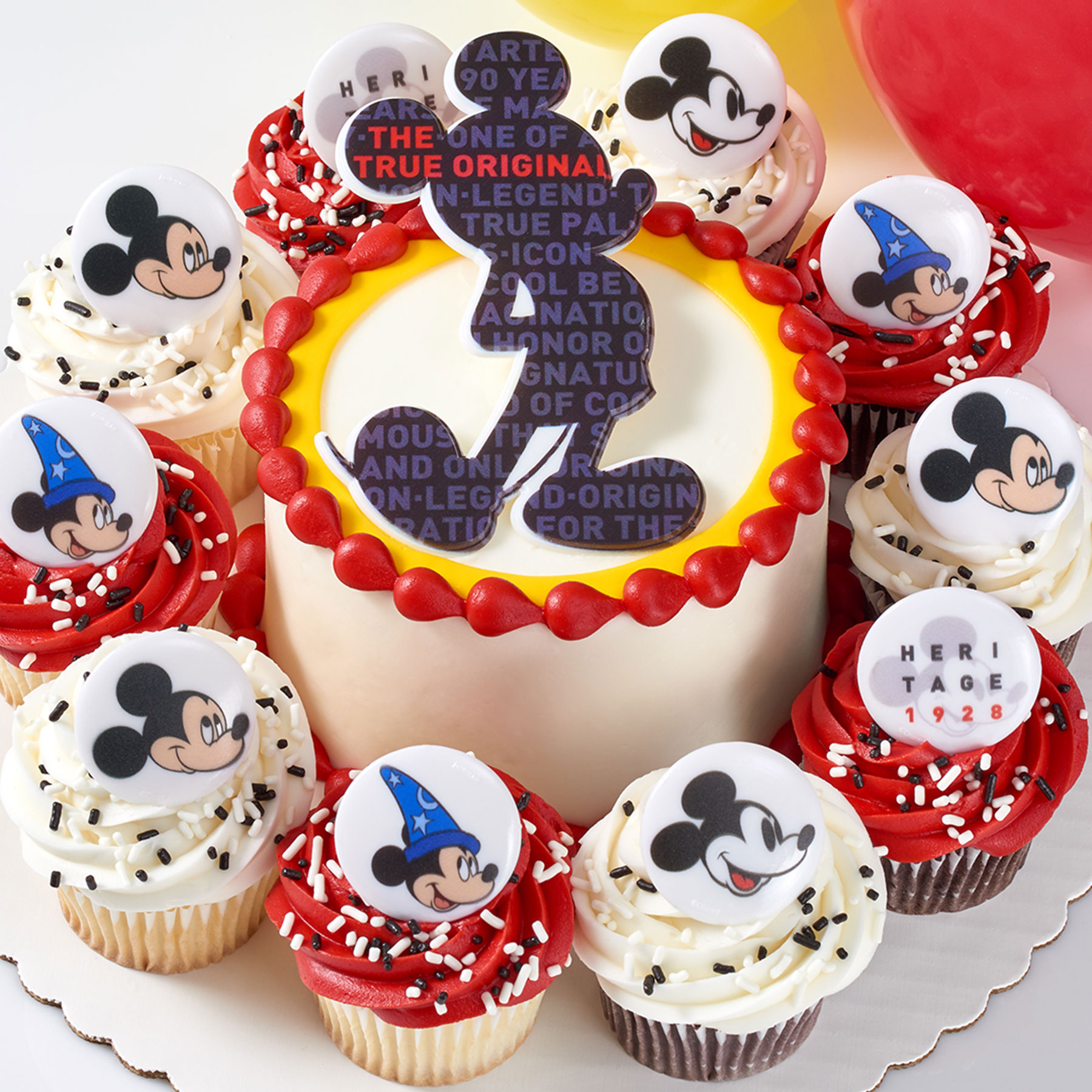 Super Sams Club Debuts Mickey Mouse Cakes For His 90Th Birthday Funny Birthday Cards Online Alyptdamsfinfo