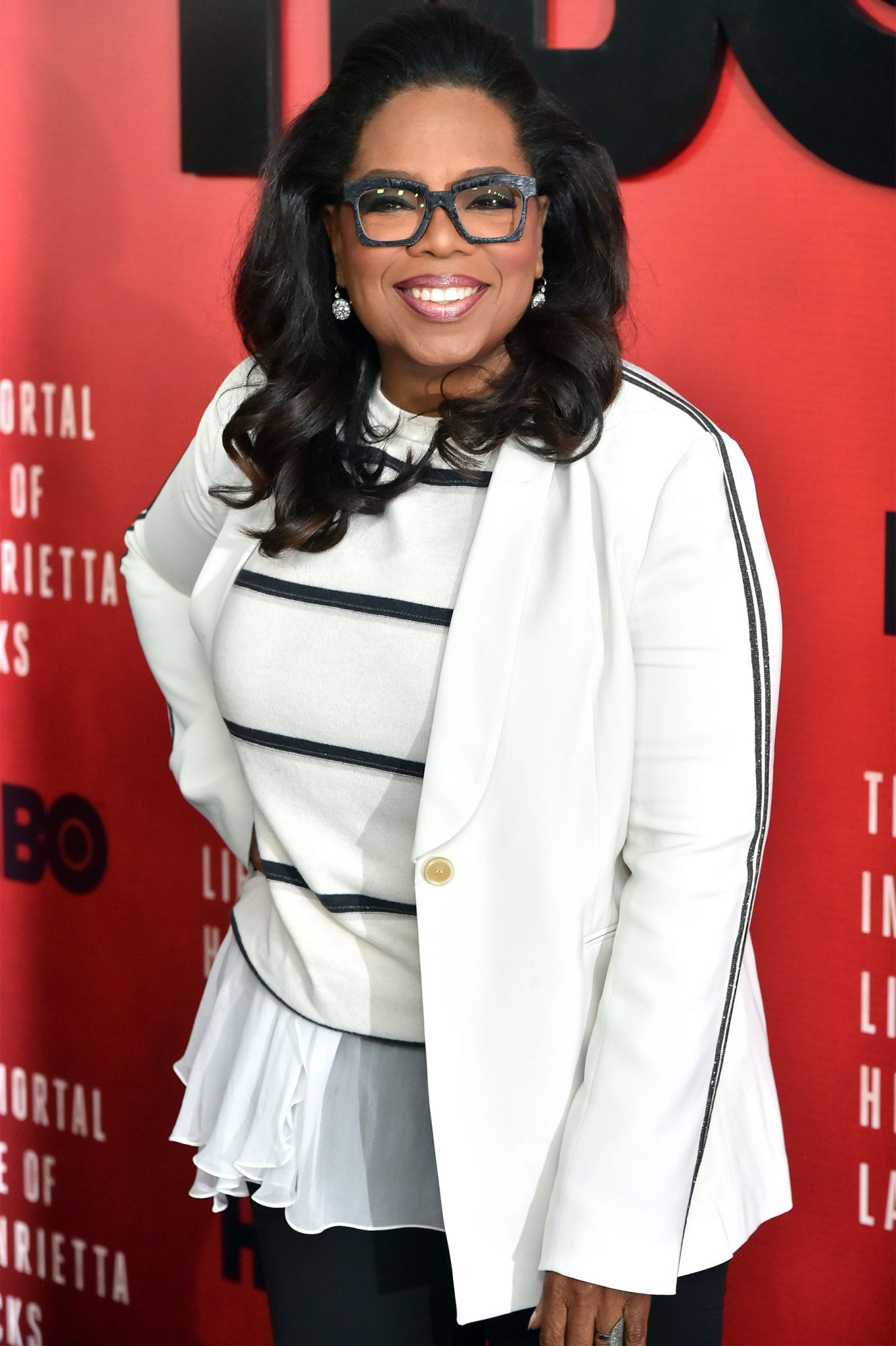 'The Immortal Life of Henrietta Lacks' film screening, Arrivals, New York, USA - 18 Apr 2017