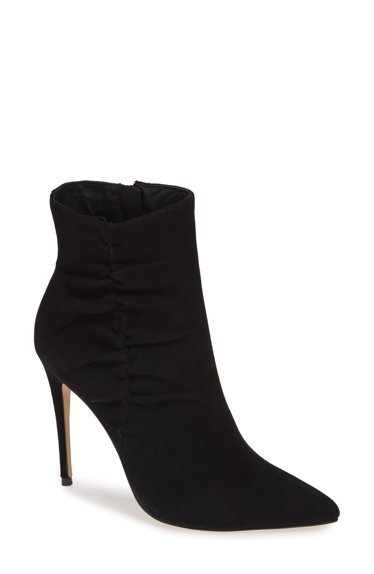 Something Navy x Nordstrom Arianna Ruched Bootie