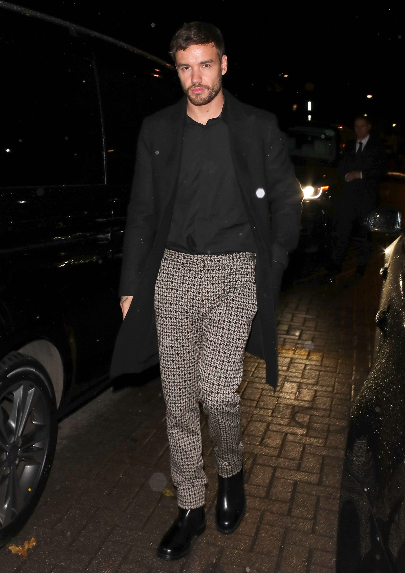Liam Payne arriving at Laylow for the Rita Ora Halloween party