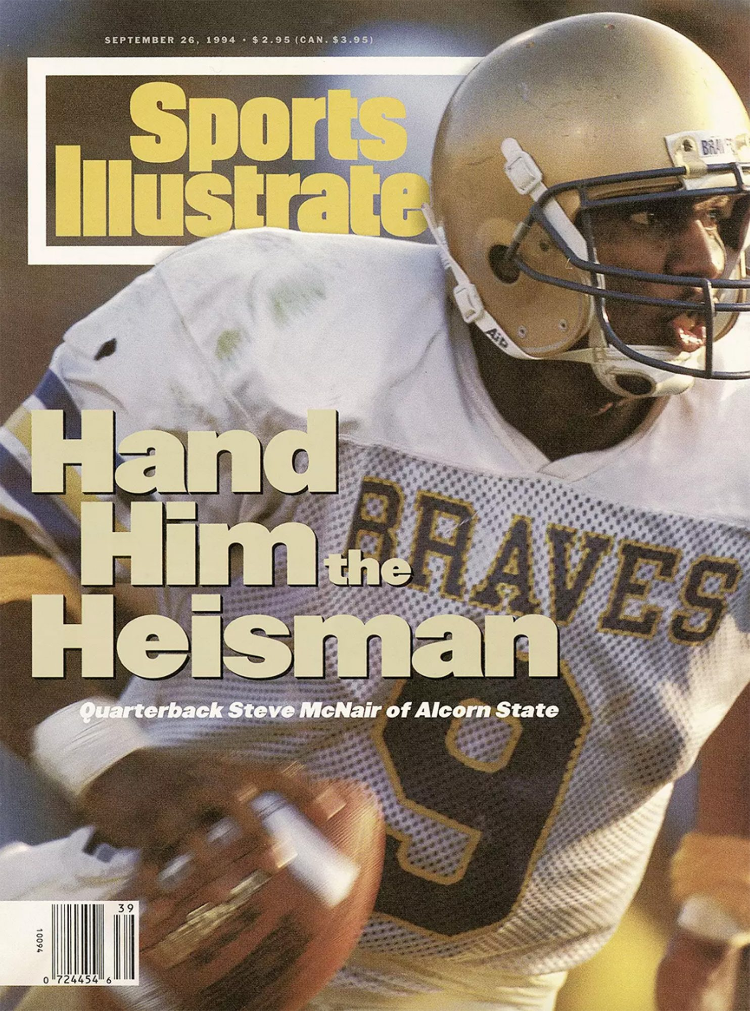 Steve McNair cover Sports IllustratedCredit: Sports Illustrated