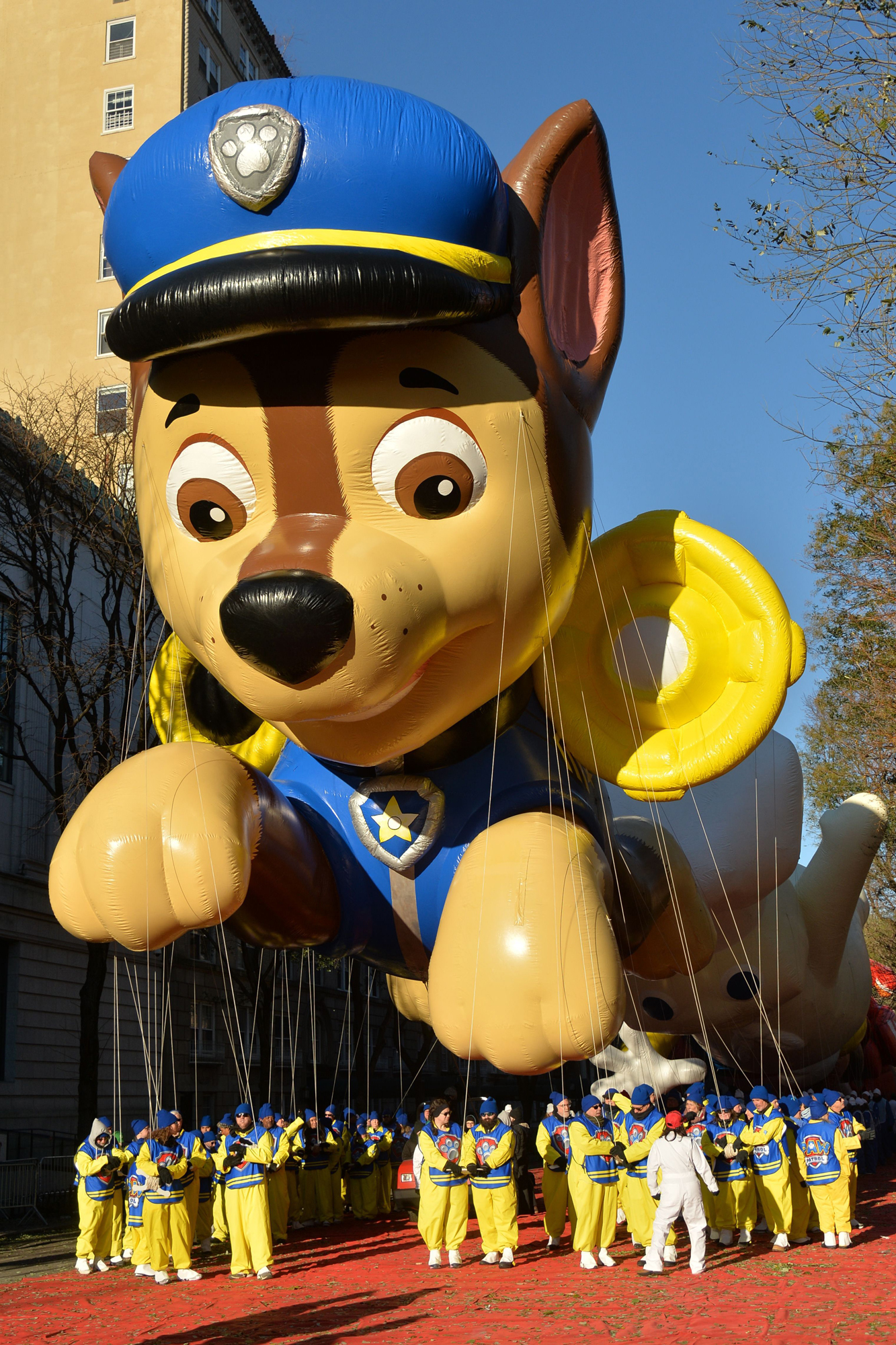 Macy's Thanksgiving Day Parade, New York, USA - 22 Nov 2018
