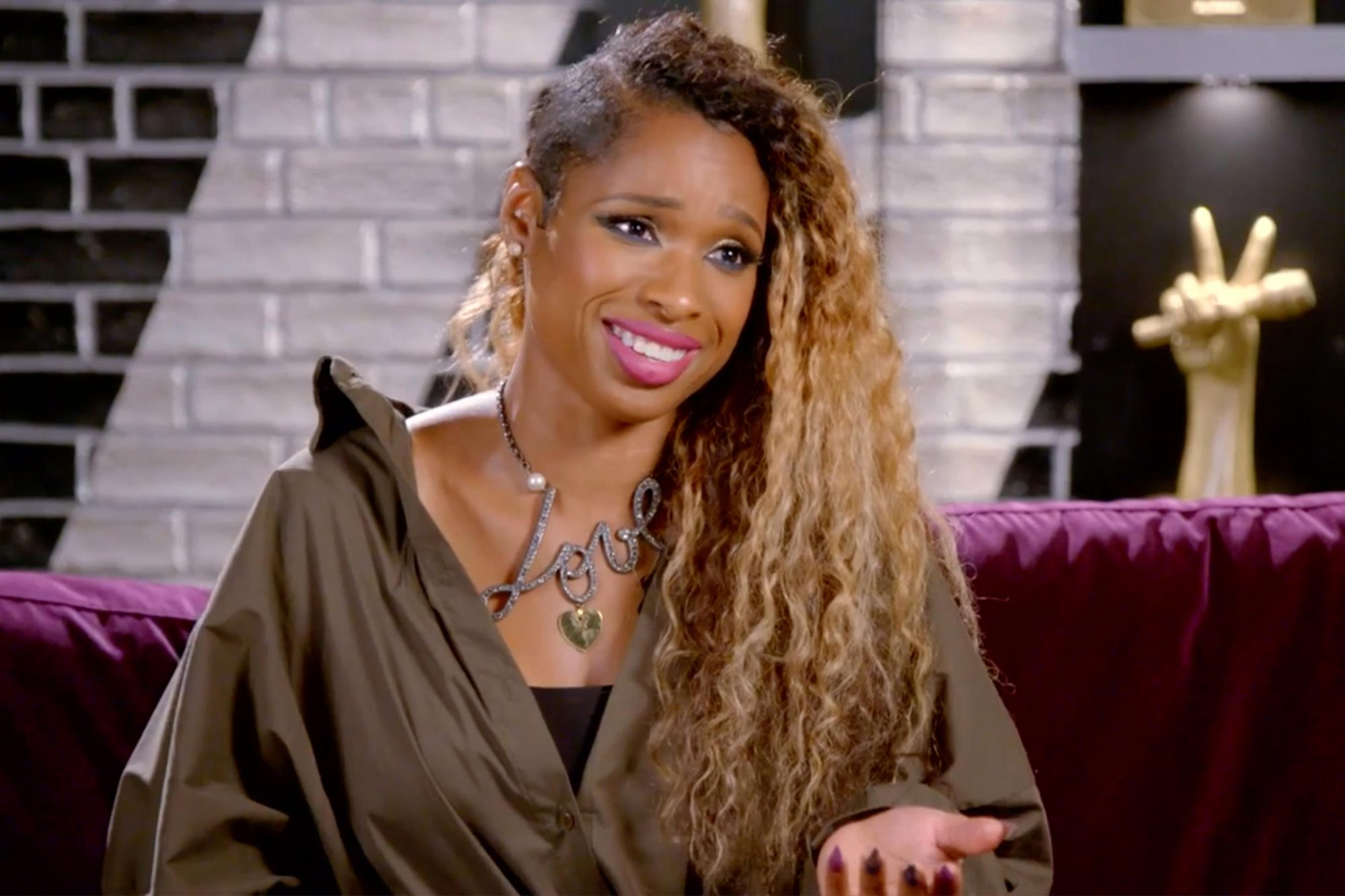 Exclusive video from The Voice with Jennifer Hudson (screen grab)CR: NBC