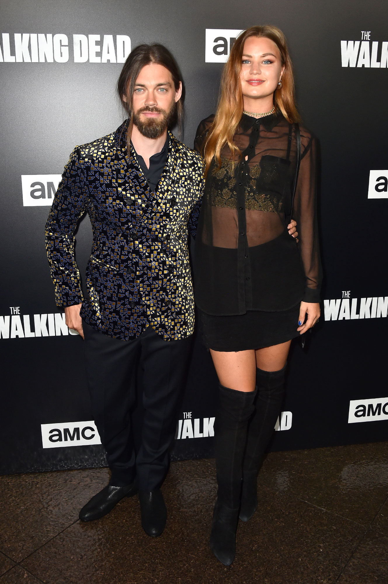 "Premiere Of AMC's ""The Walking Dead"" Season 9 - Arrivals"