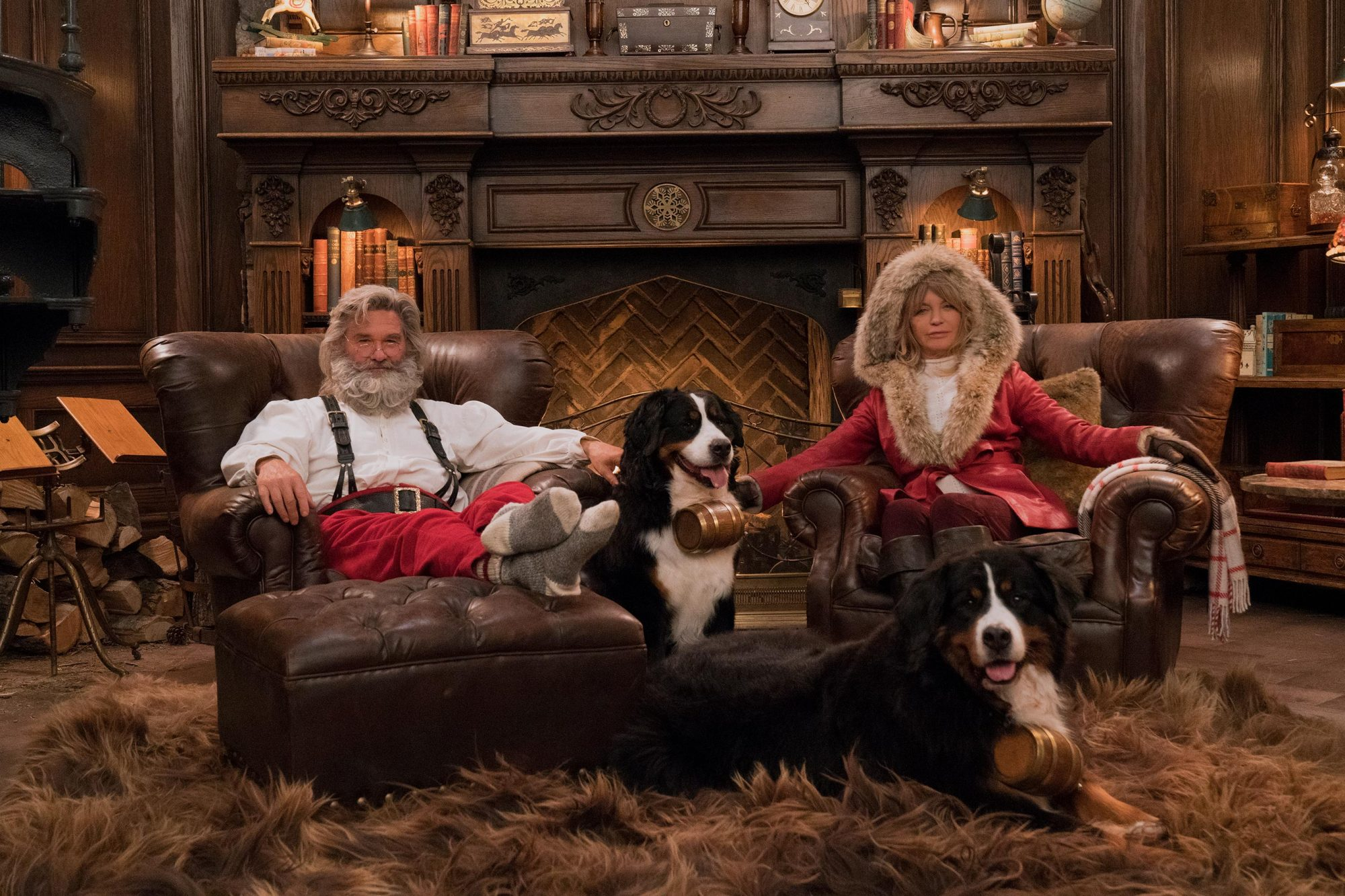 The Christmas ChroniclesKurt Russell, Goldie HawnCR: Michael Gibson/Netflix