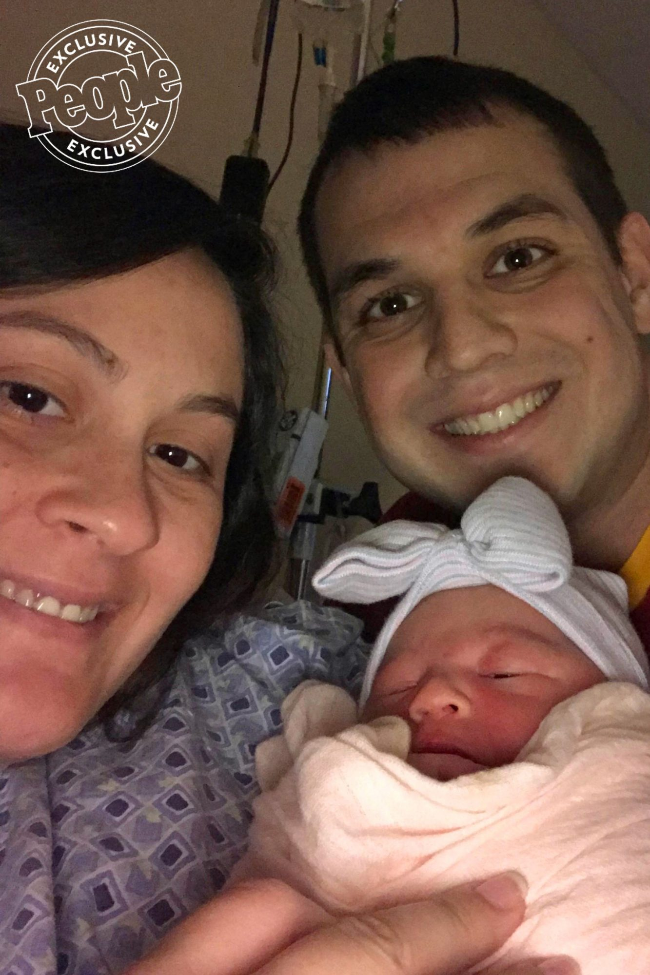 """It's love at first sight!                             Isabella Myra Wise was born to Married At First Sight alum Sam Role and fiancé Chris Wise on Sept. 7, at 6:58pm, weighing 7 lbs., 2 oz., and measuring 18½ inches long, Role said.                             """"It's been a long few days, but we are finally home with our sweet girl,"""" she continued. """"She is healthy and very happy! And we are the luckiest to have her as ours."""""""