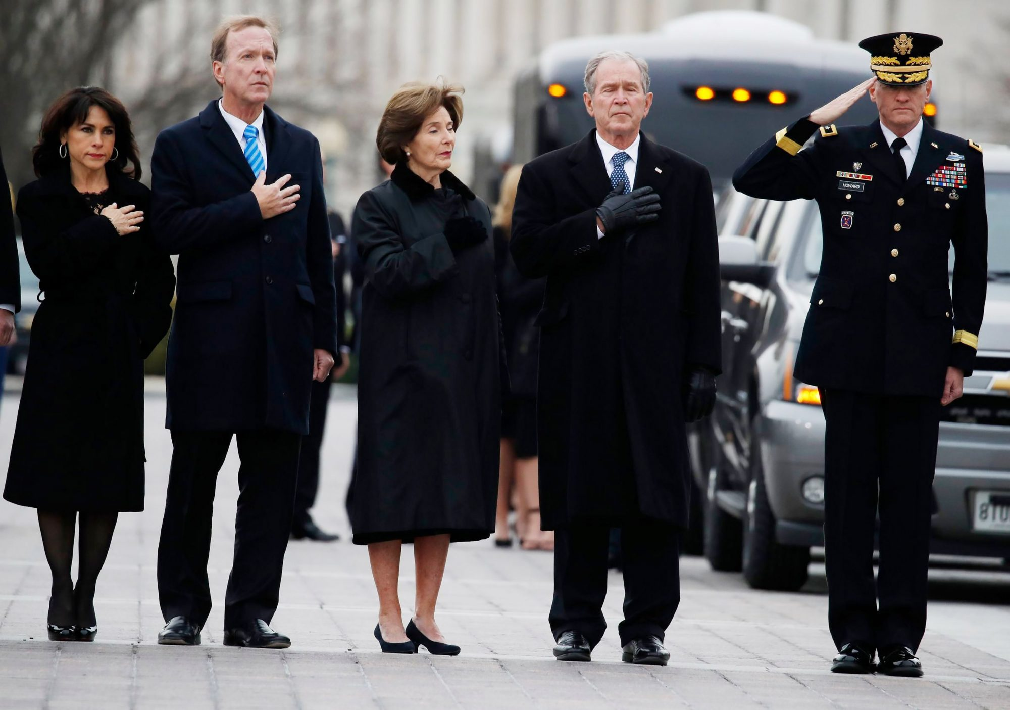 George H.W. Bush dies at 94, Washington, Dc, USA - 05 Dec 2018