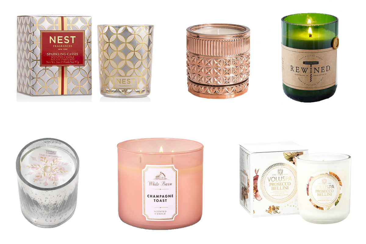 Gallery: We Tested (and Graded) TK Champagne-Scented Candles on the Market