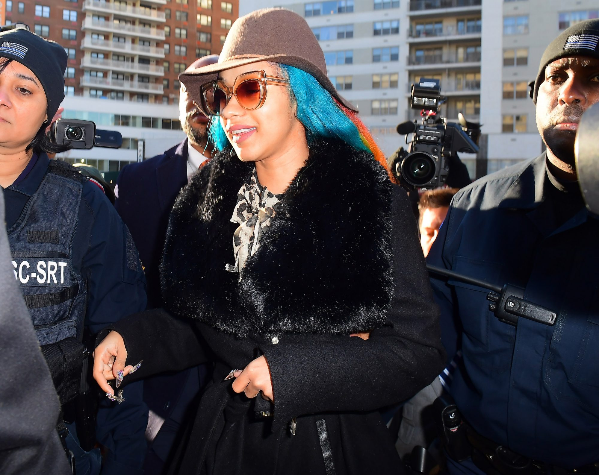 Cardi B Avoids Arrest Warrant as she Finally Shows up at Queens County Courthouse