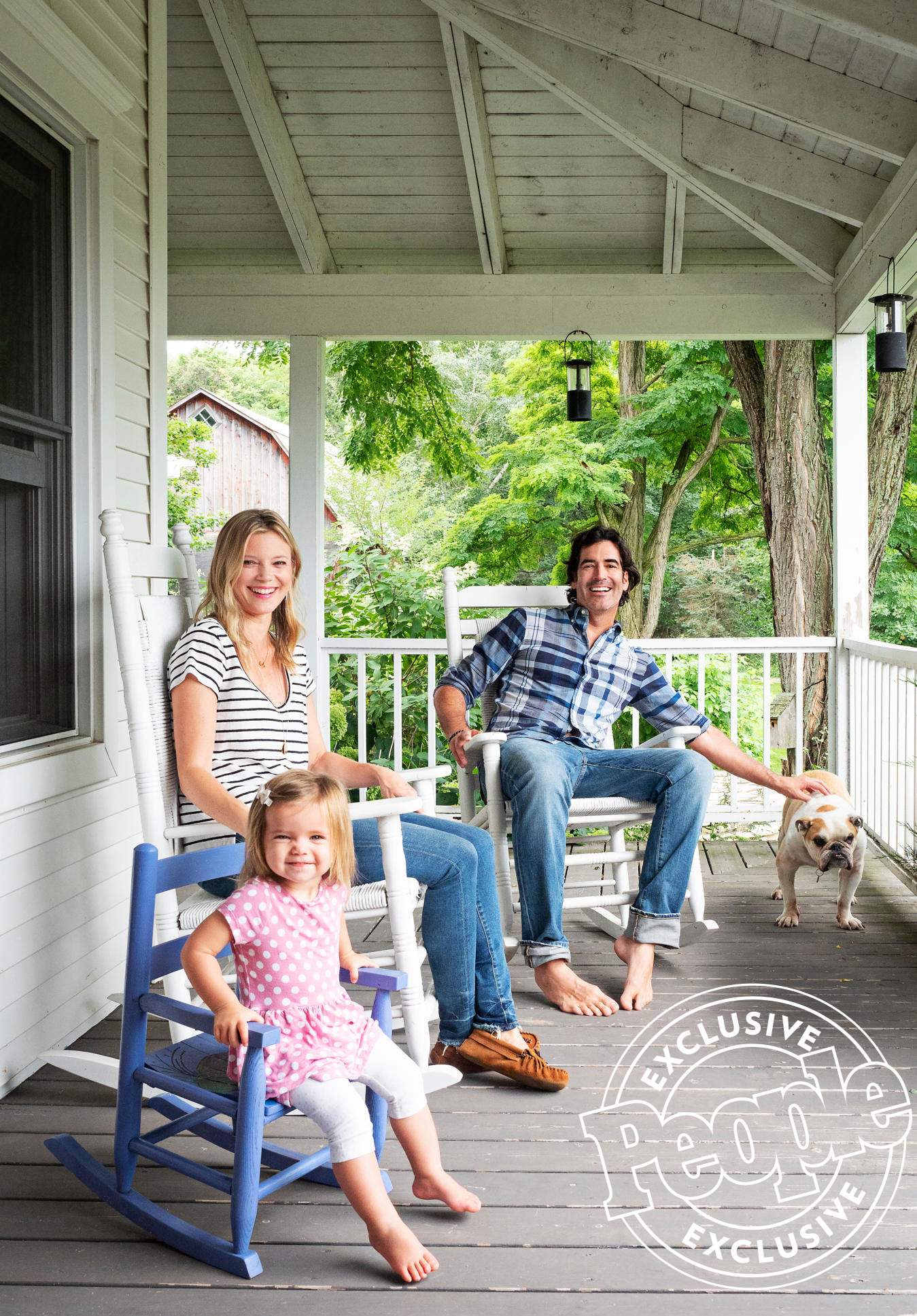 Carter Oosterhouse and Amy Smart's Michigan Farmhouse
