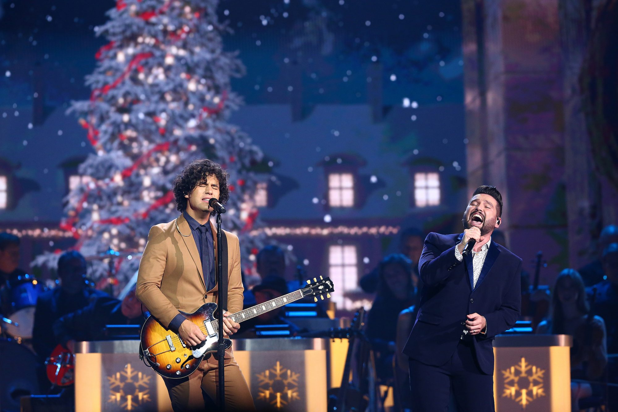 Dan and Shay CMA ChristmasCredit: Kayla Schoen/CMA