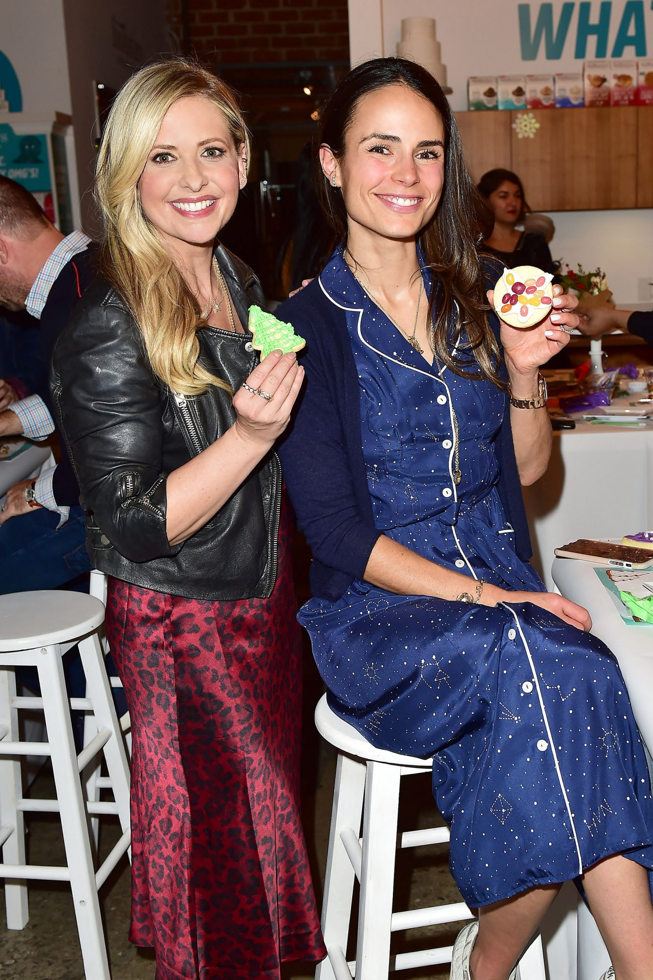 Sarah Michelle Gellar and her Foodstirs Holiday Party