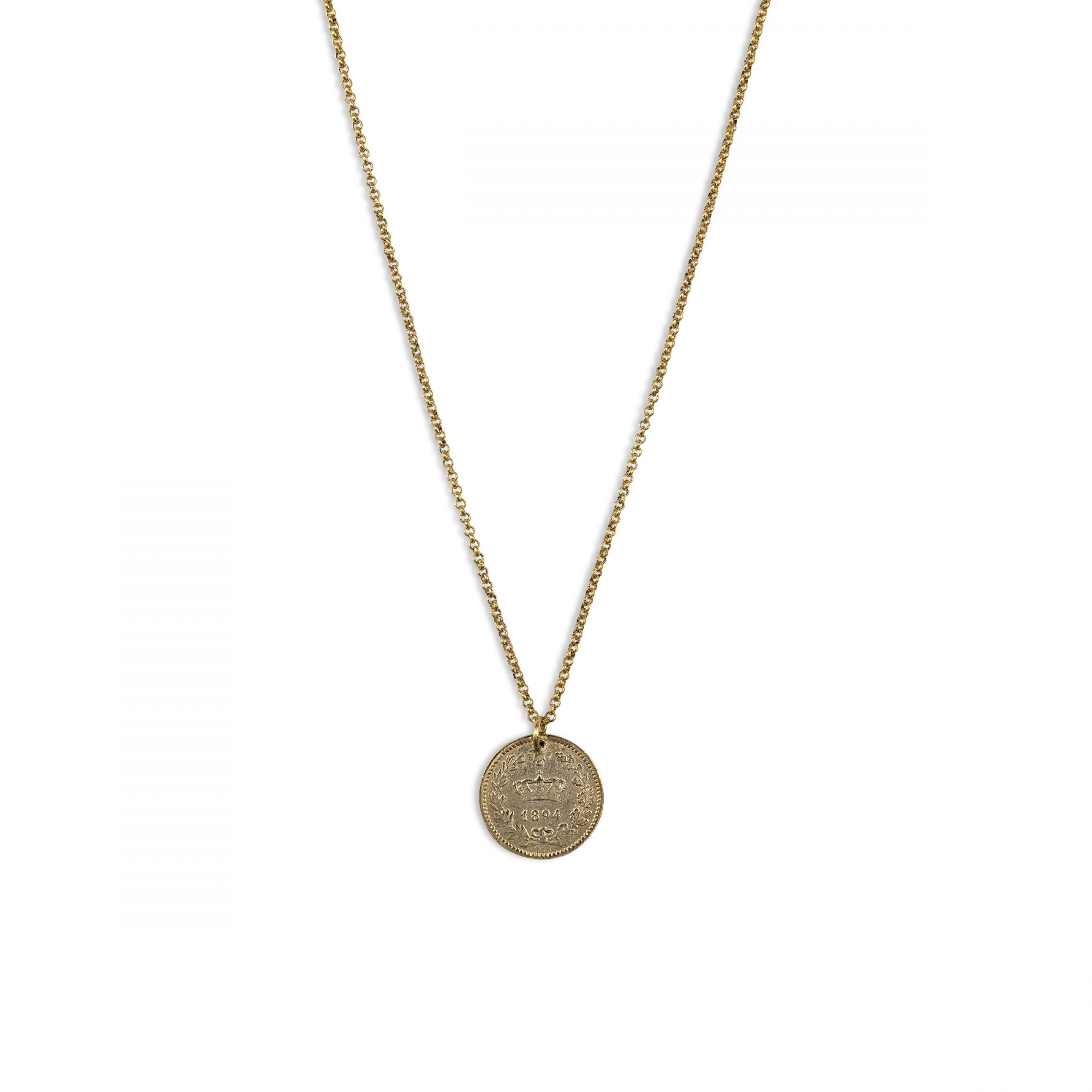 Fortune 18 Coin Electric Picks Necklace Ps